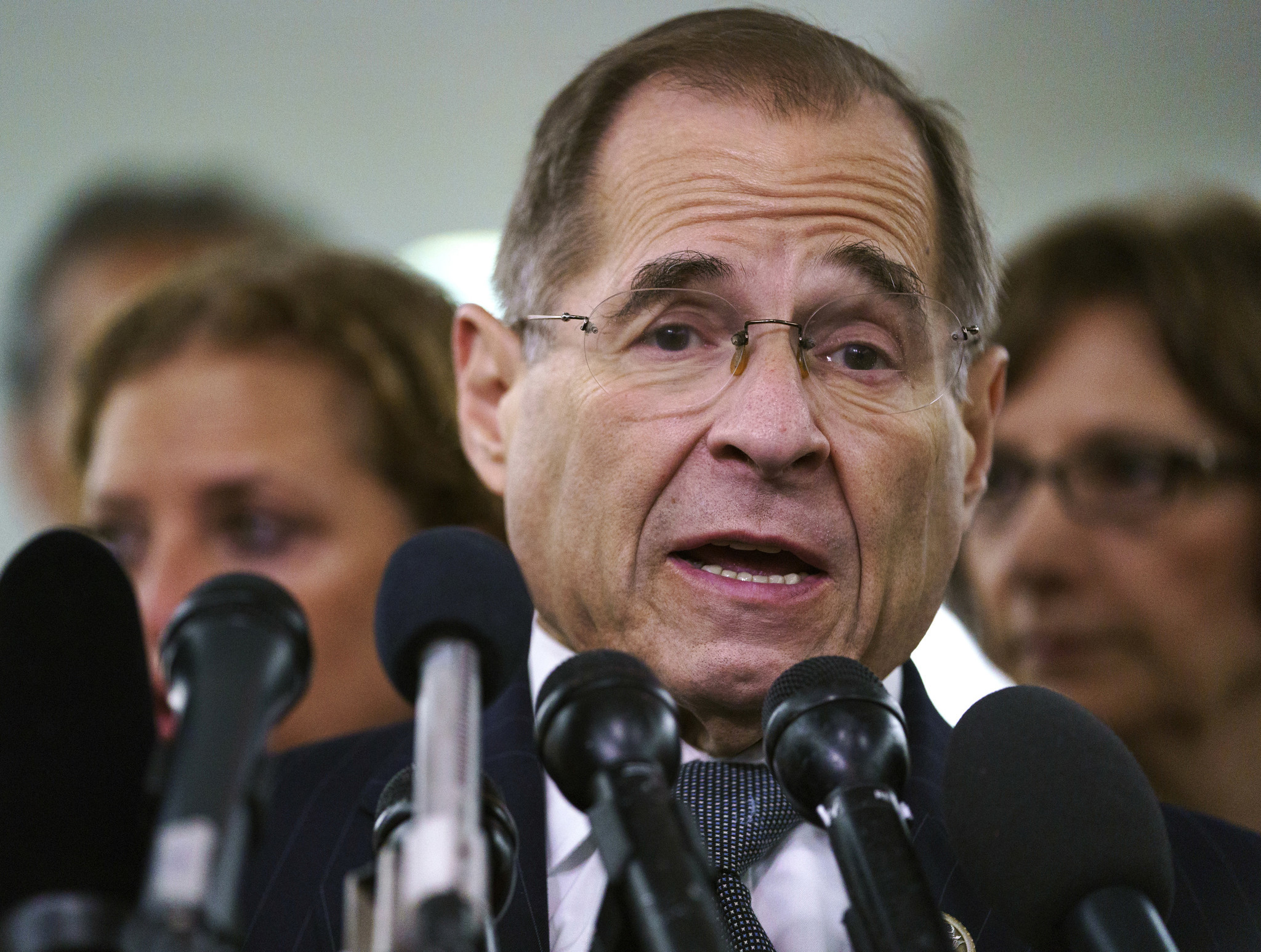 Jerry Nadler skips impeachment hearing as wife battles pancreatic cancer