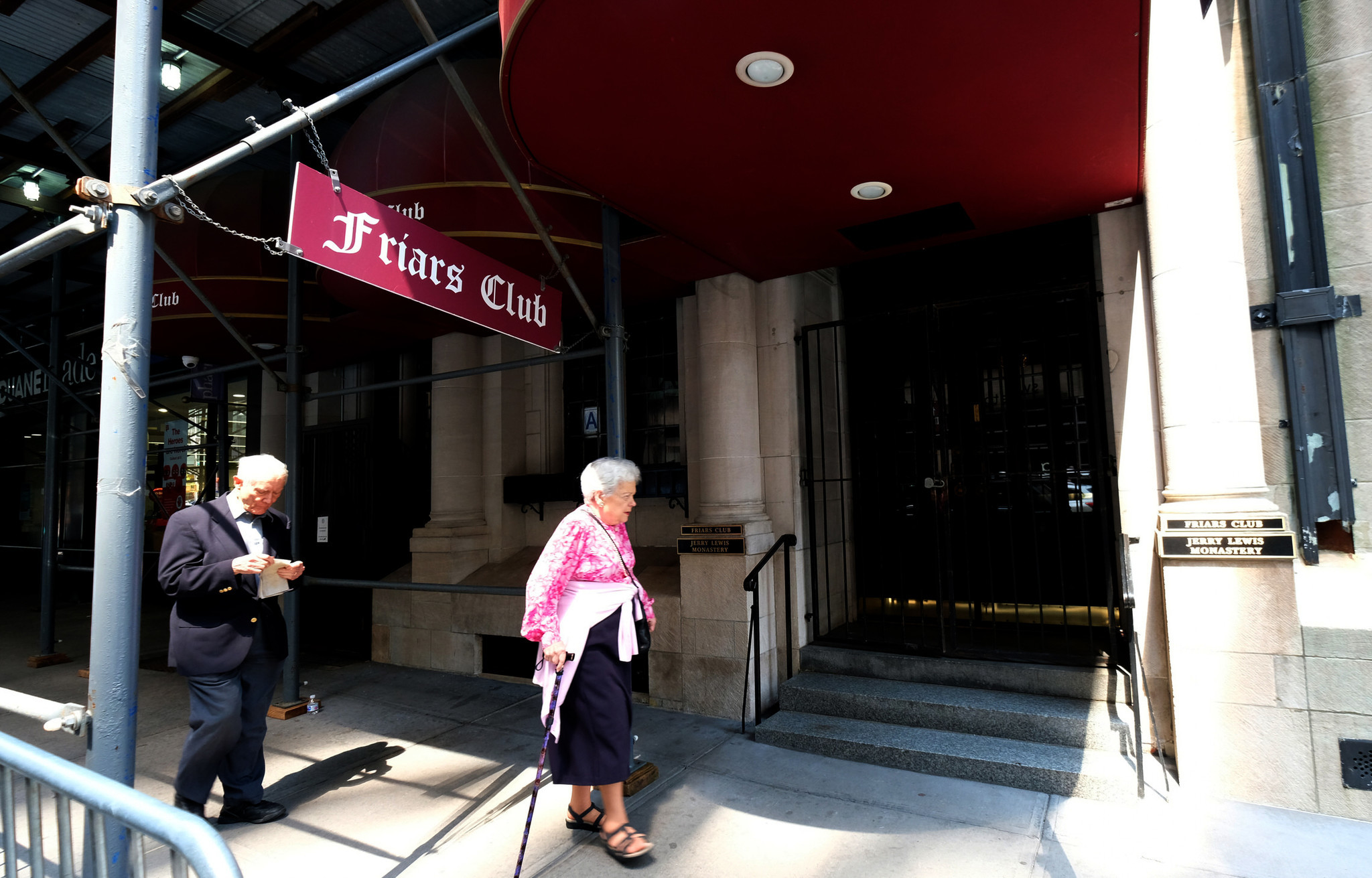 Financially struggling Friars Club under water again when pipe bursts