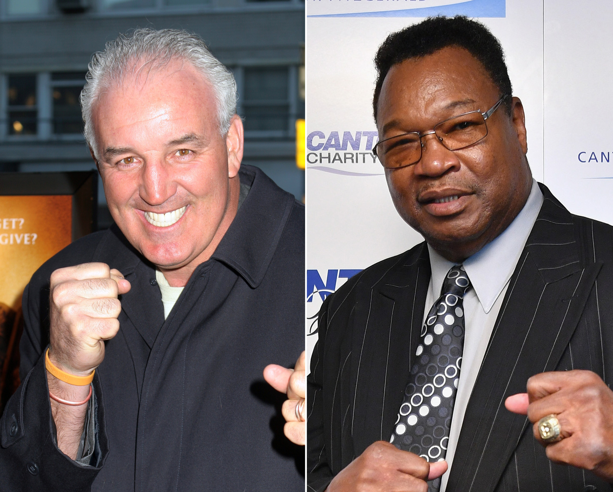Larry Holmes and Gerry Cooney may slug it out again, nearly 40 years after their title fight