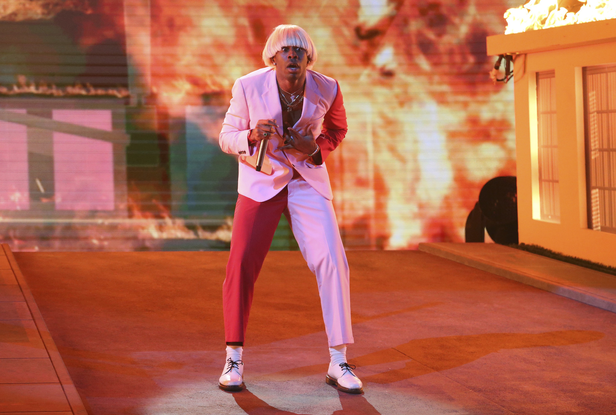 Grammy winner Tyler, the Creator says urban category is 'a politically correct way to say the n-word'