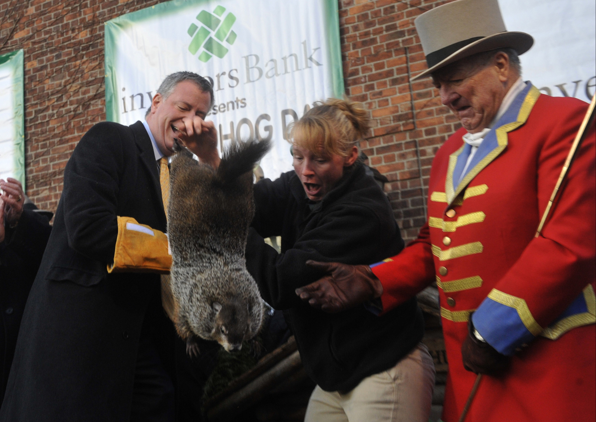 De Blasio won't celebrate Groundhog Day ever again after killing Staten Island Chuck