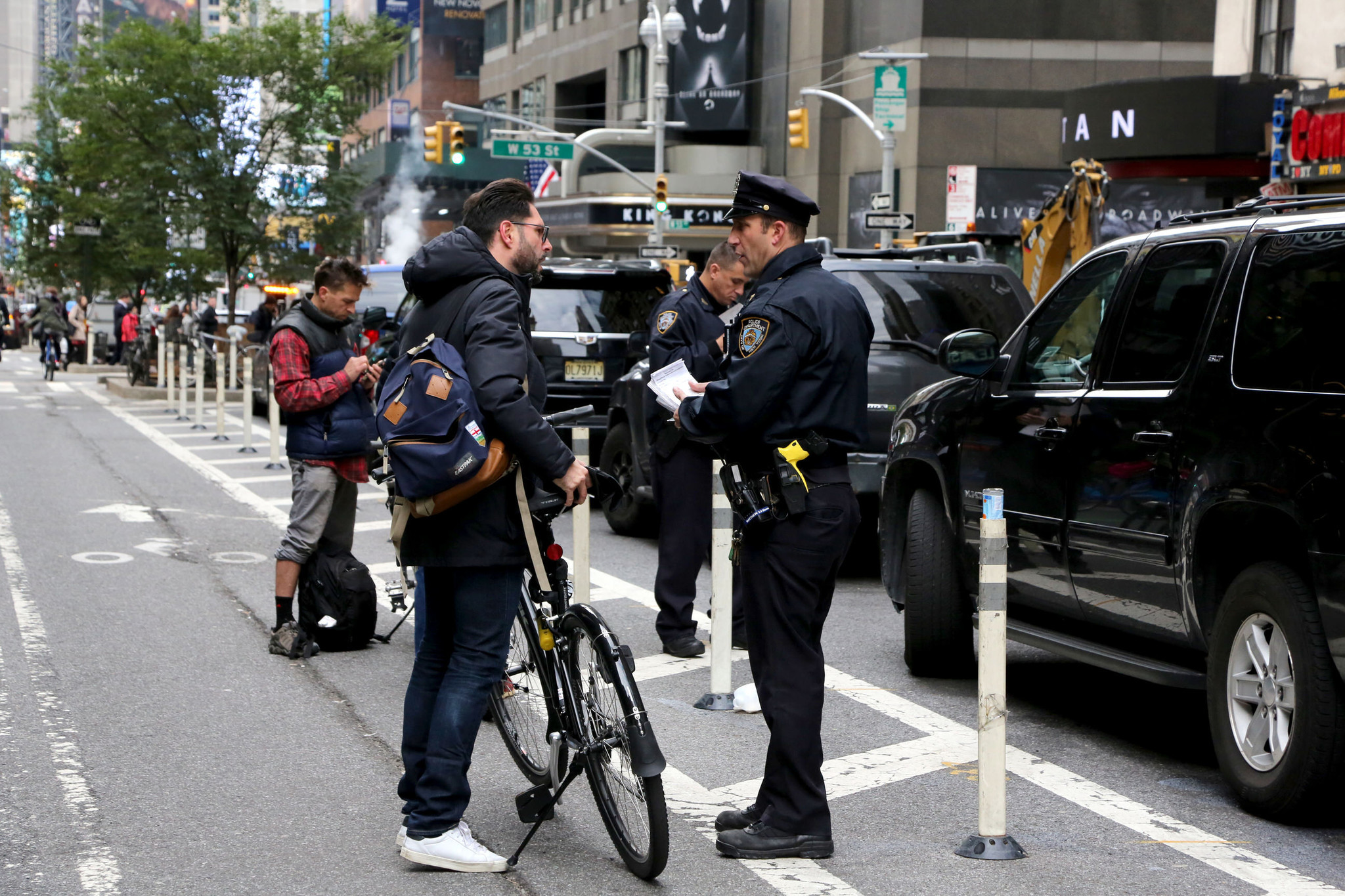 NYPD issued more tickets to bike riders than truck drivers last year