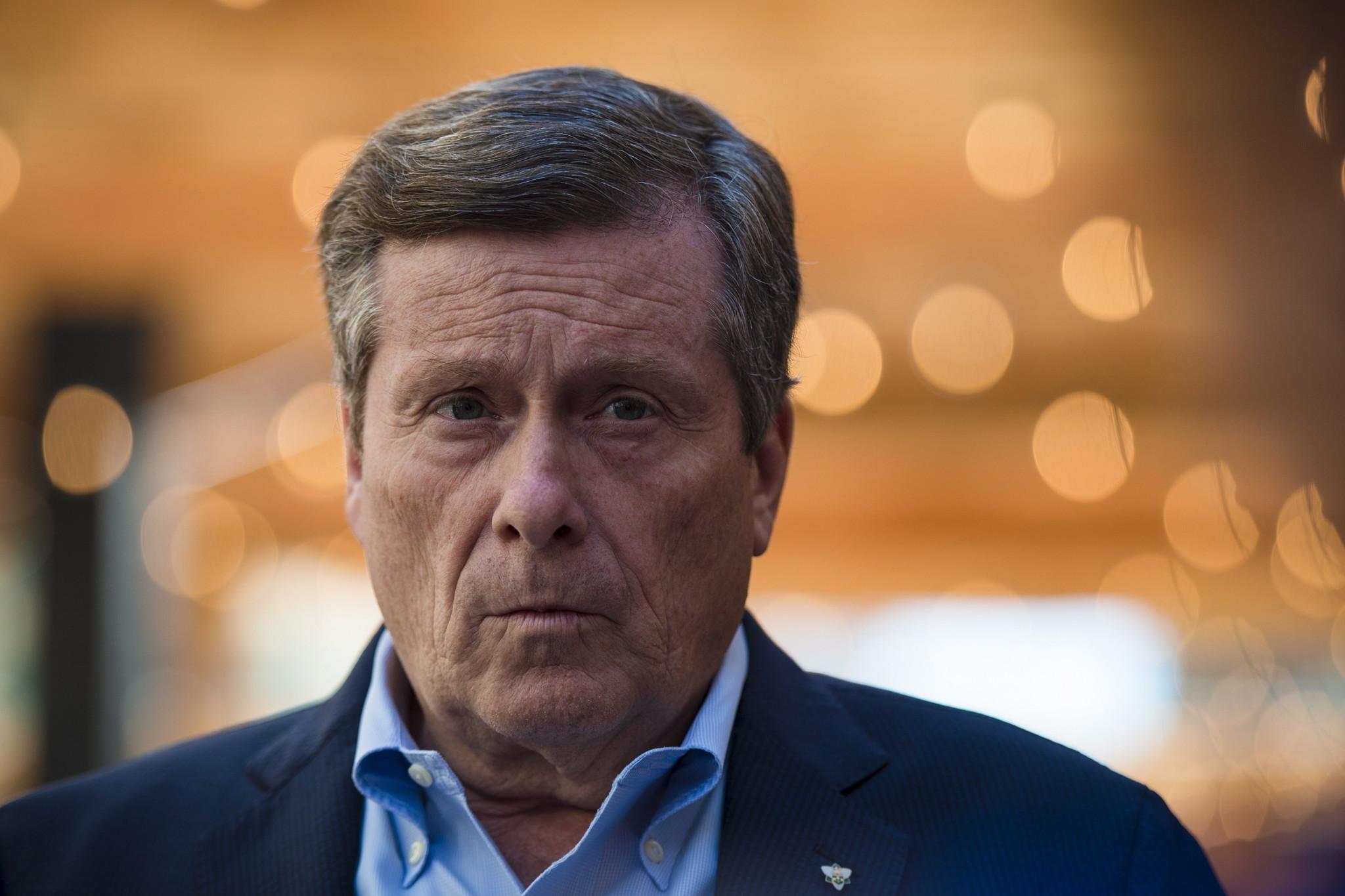 Toronto mayor takes stand against anti-Chinese discrimination amid coronavirus fears
