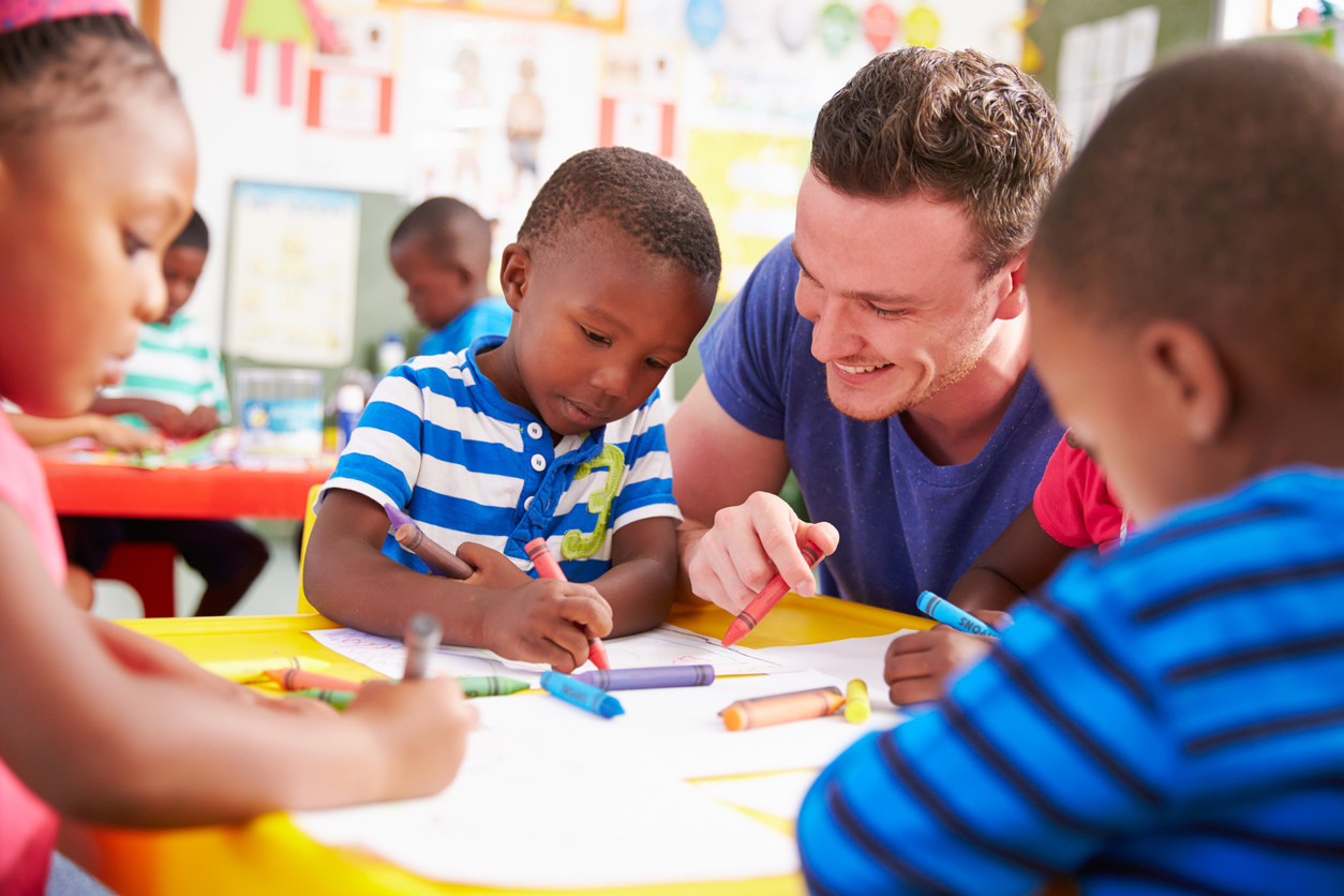 How can we get more men in early childhood education?