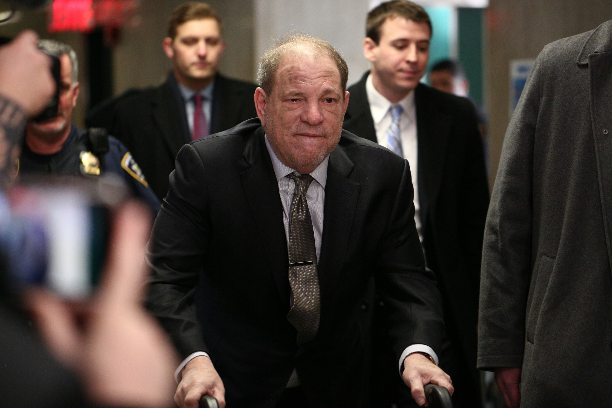 Harvey Weinstein, 8 others quarantined at upstate NY prison due to coronavirus: report