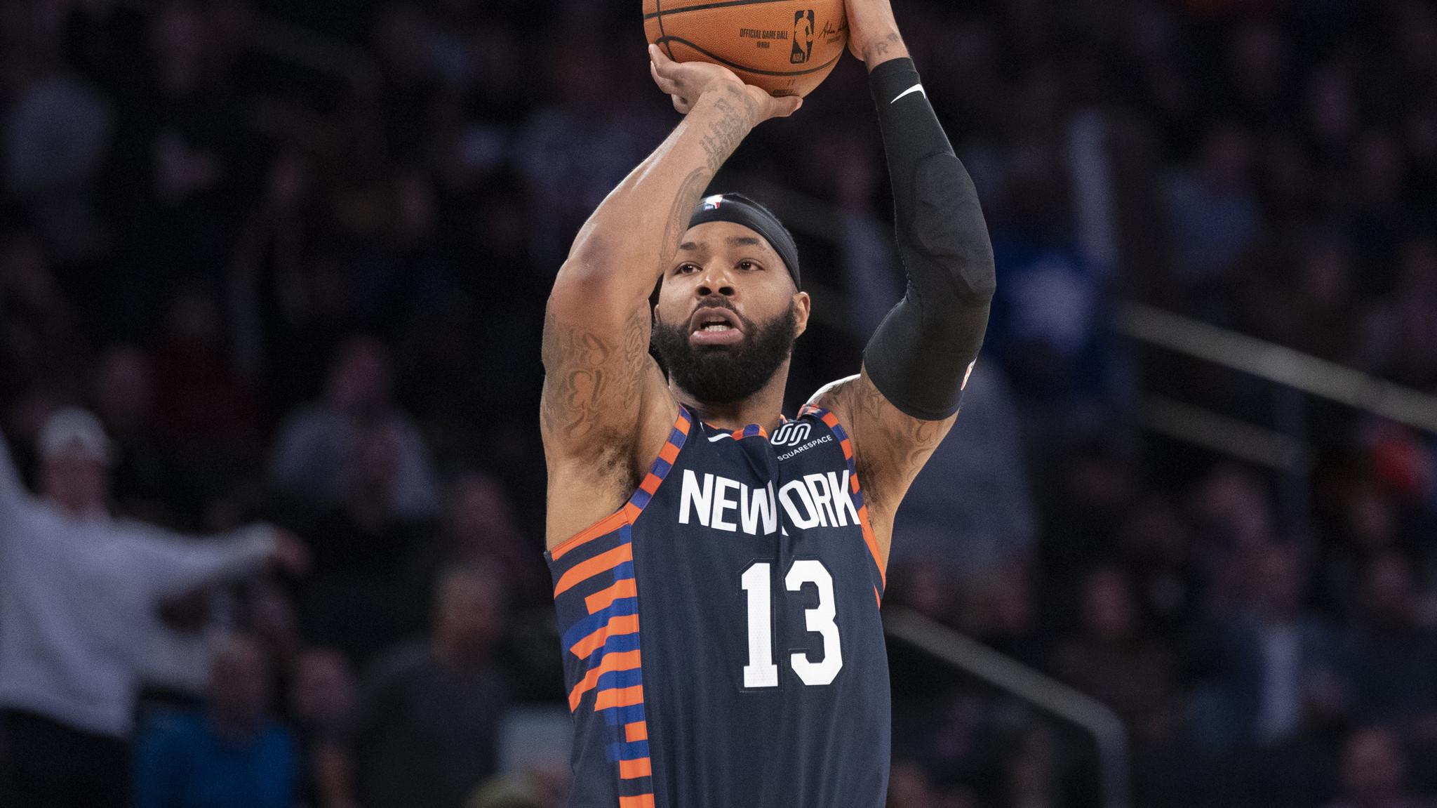 Marcus Morris gambled on himself and believes it will pay off lucratively with the Knicks long-term