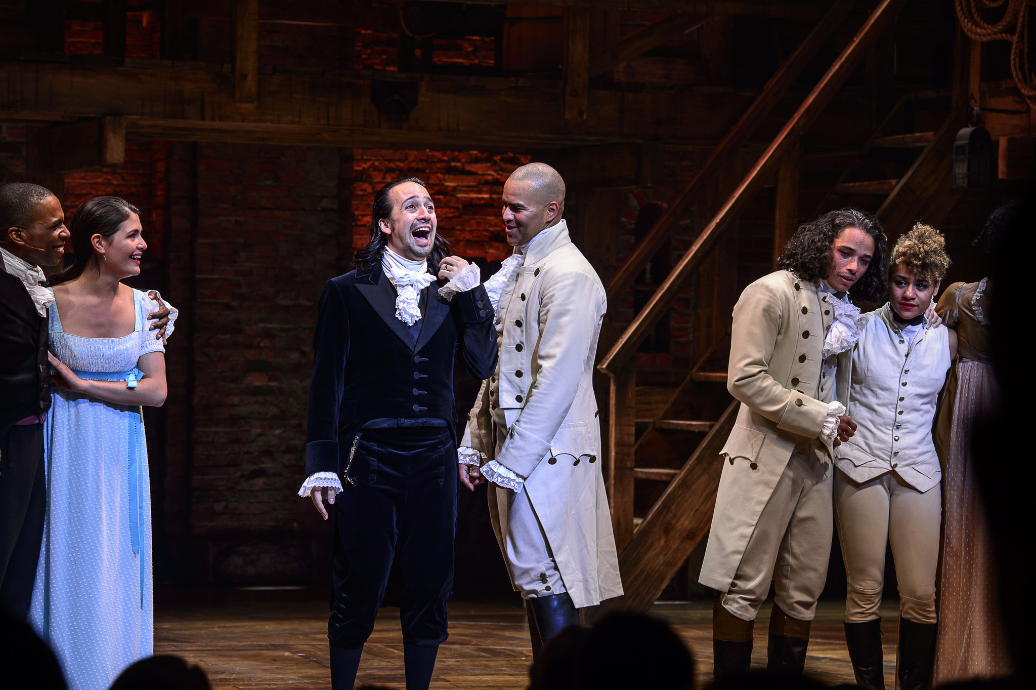 Filmed 'Hamilton' production with original cast to be released in theaters