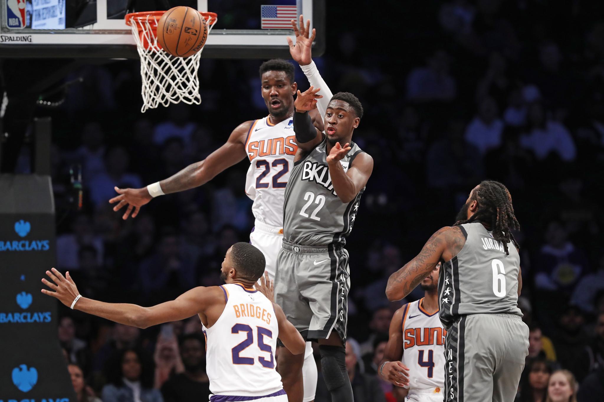 Caris LeVert snaps out of month-long slump as Nets get revenge on Suns