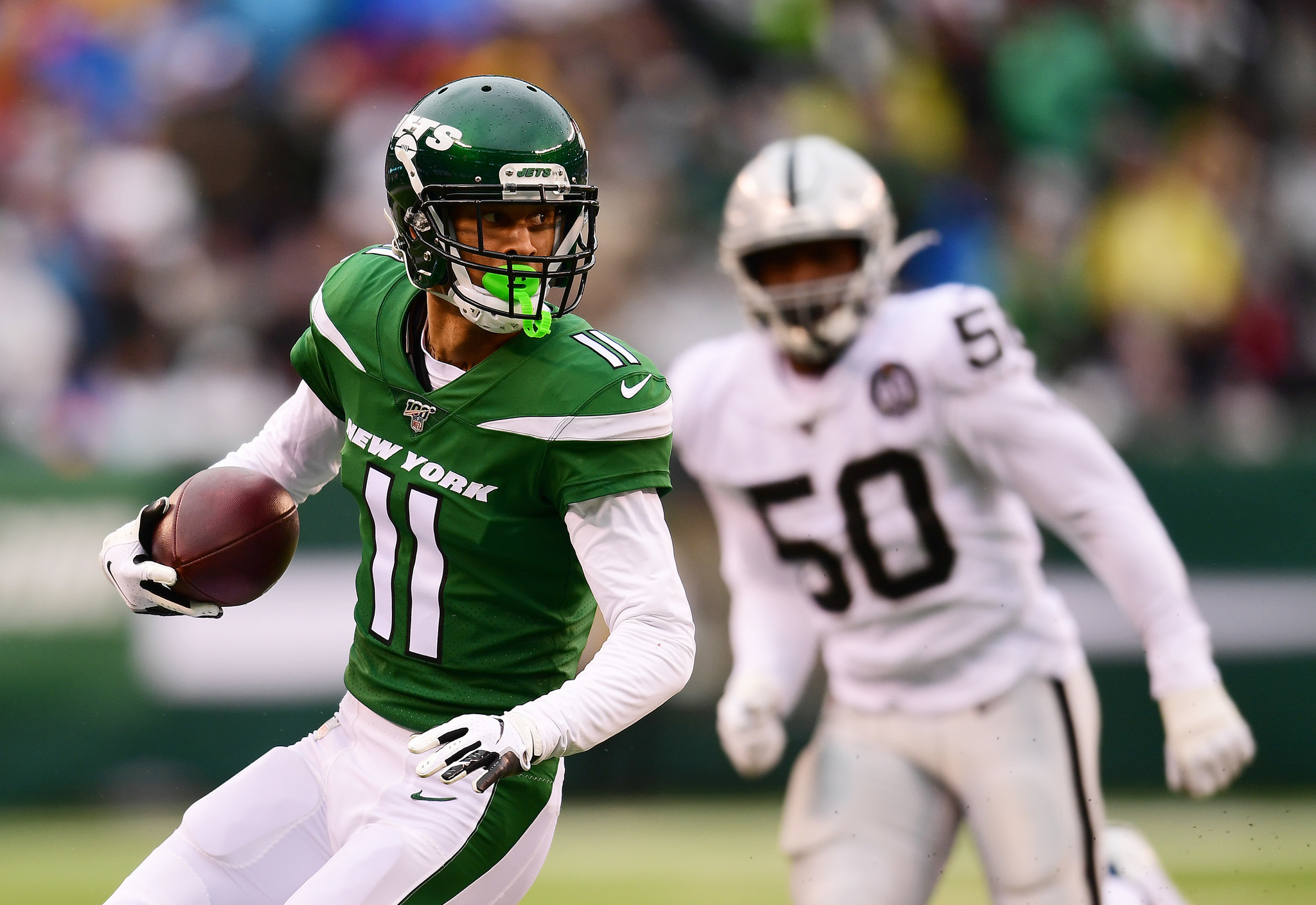 Jets Mailbag: Did the Jets make a mistake replacing Robby Anderson with Breshad Perriman?