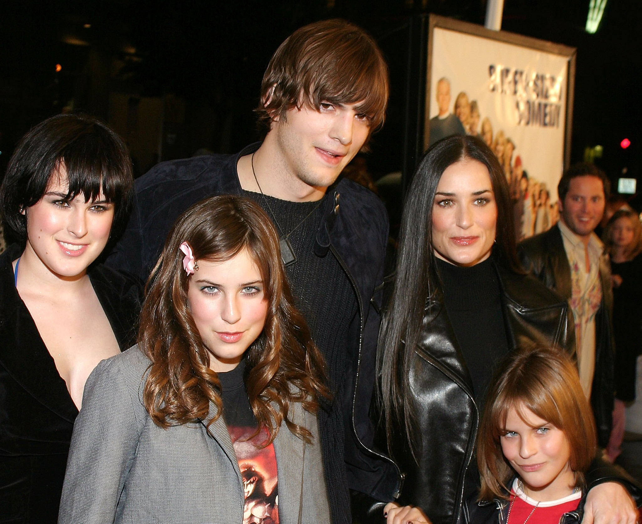 Ashton Kutcher keeps in touch with ex-wife Demi Moore's daughters: 'I'm never going to stop loving them'