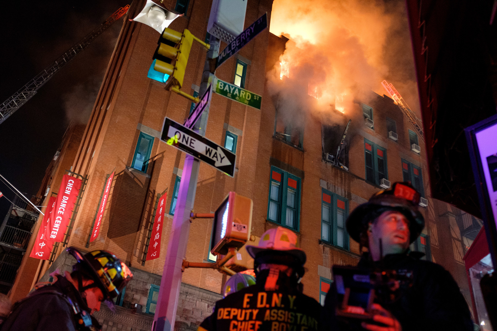 Museum of the Chinese in America strive to save artifacts following five-alarm fire