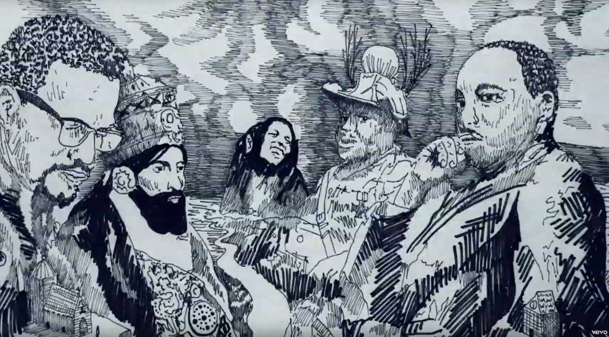 Illustrated 'Redemption Song' video released 75 years after Bob Marley's birth