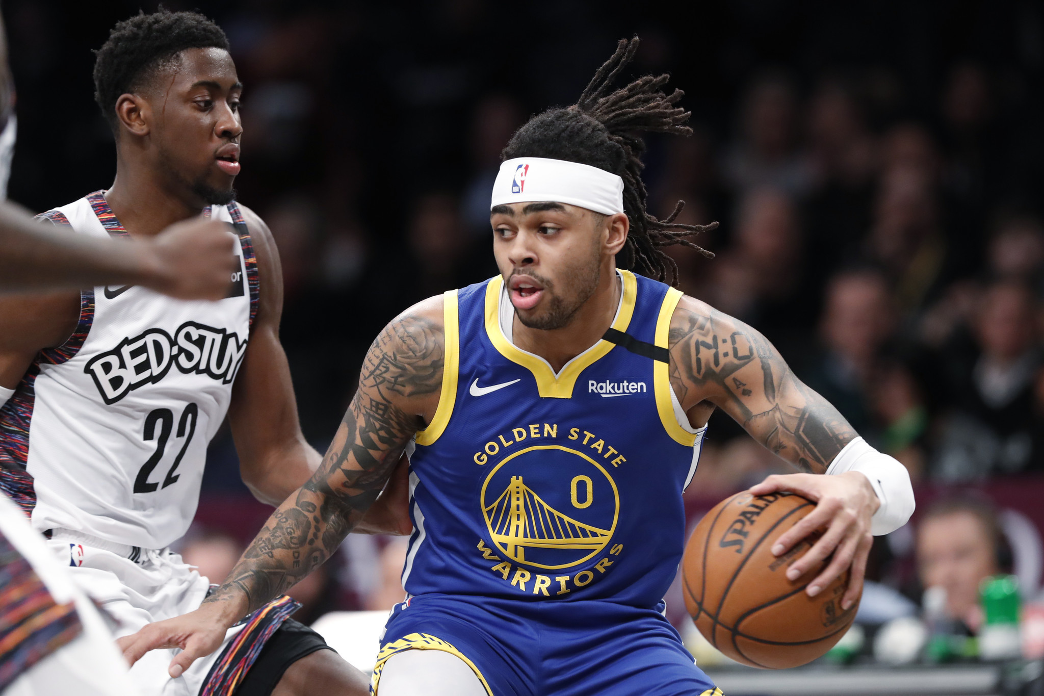 Nets enjoy an easy win over the lowly Warriors as D'Angelo Russell returns to Brooklyn