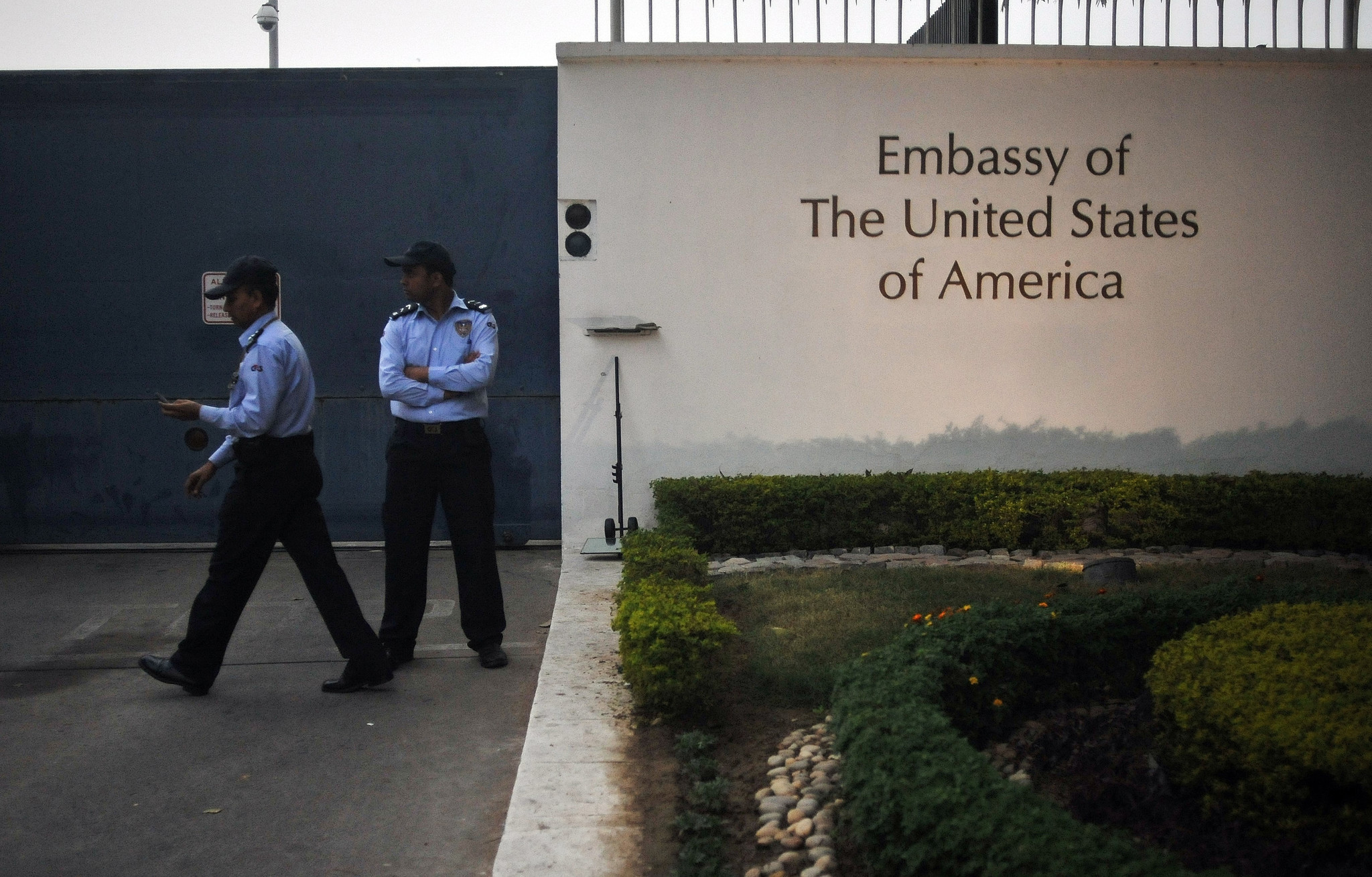 Driver accused of raping 5-year-old girl on U.S. Embassy grounds in India