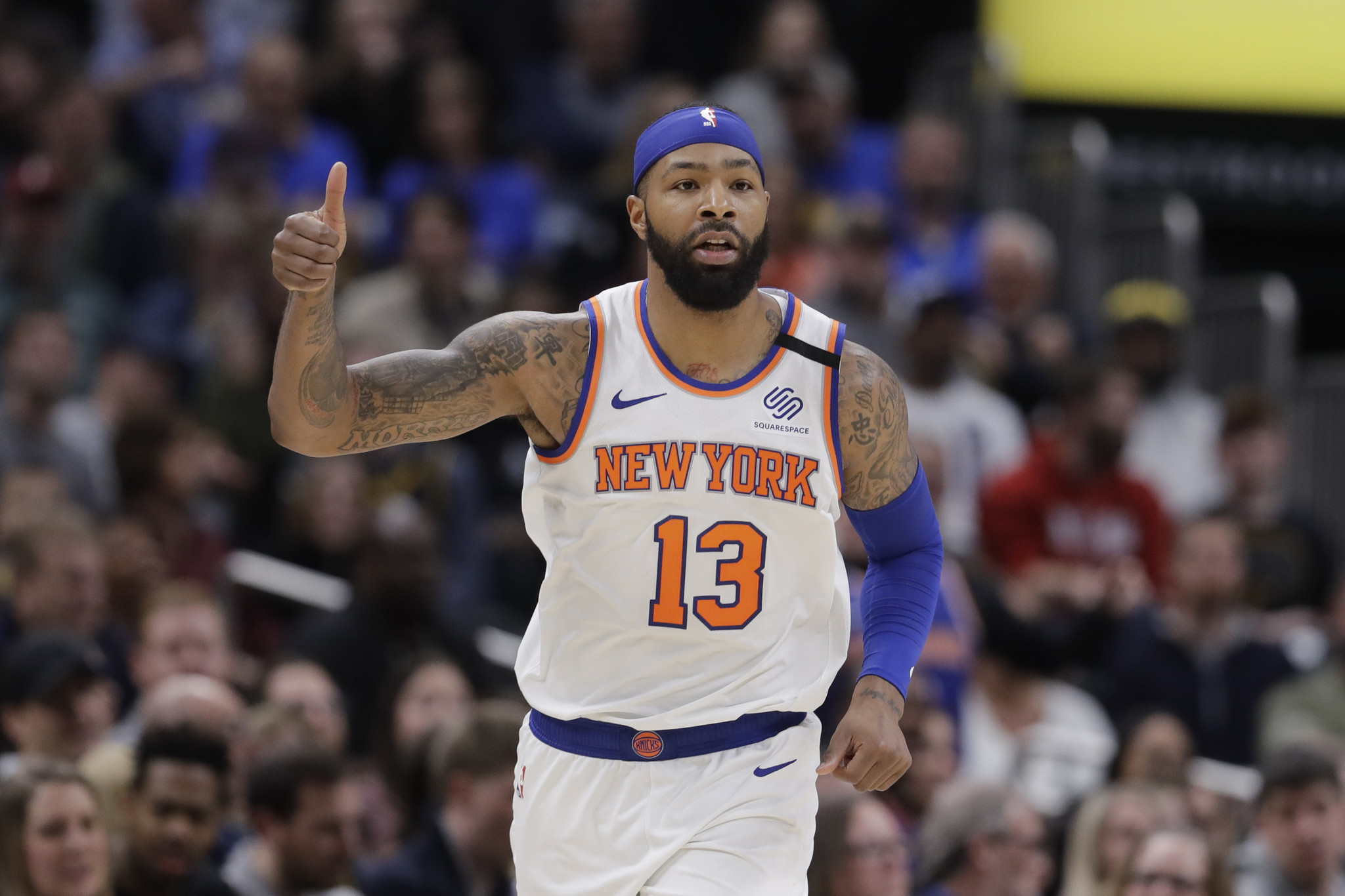 Knicks trade Marcus Morris to Clippers for Moe Harkless, first-round pick