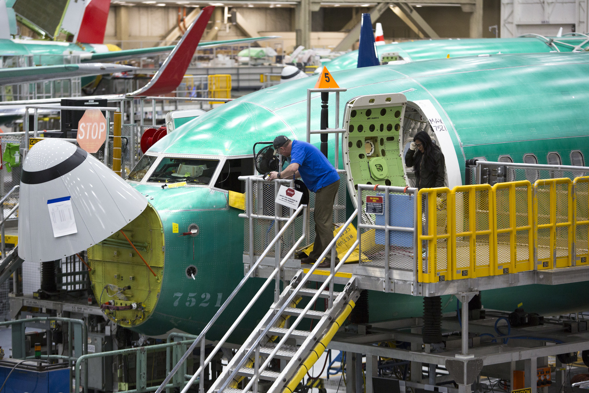 No one ordered a plane from Boeing in January