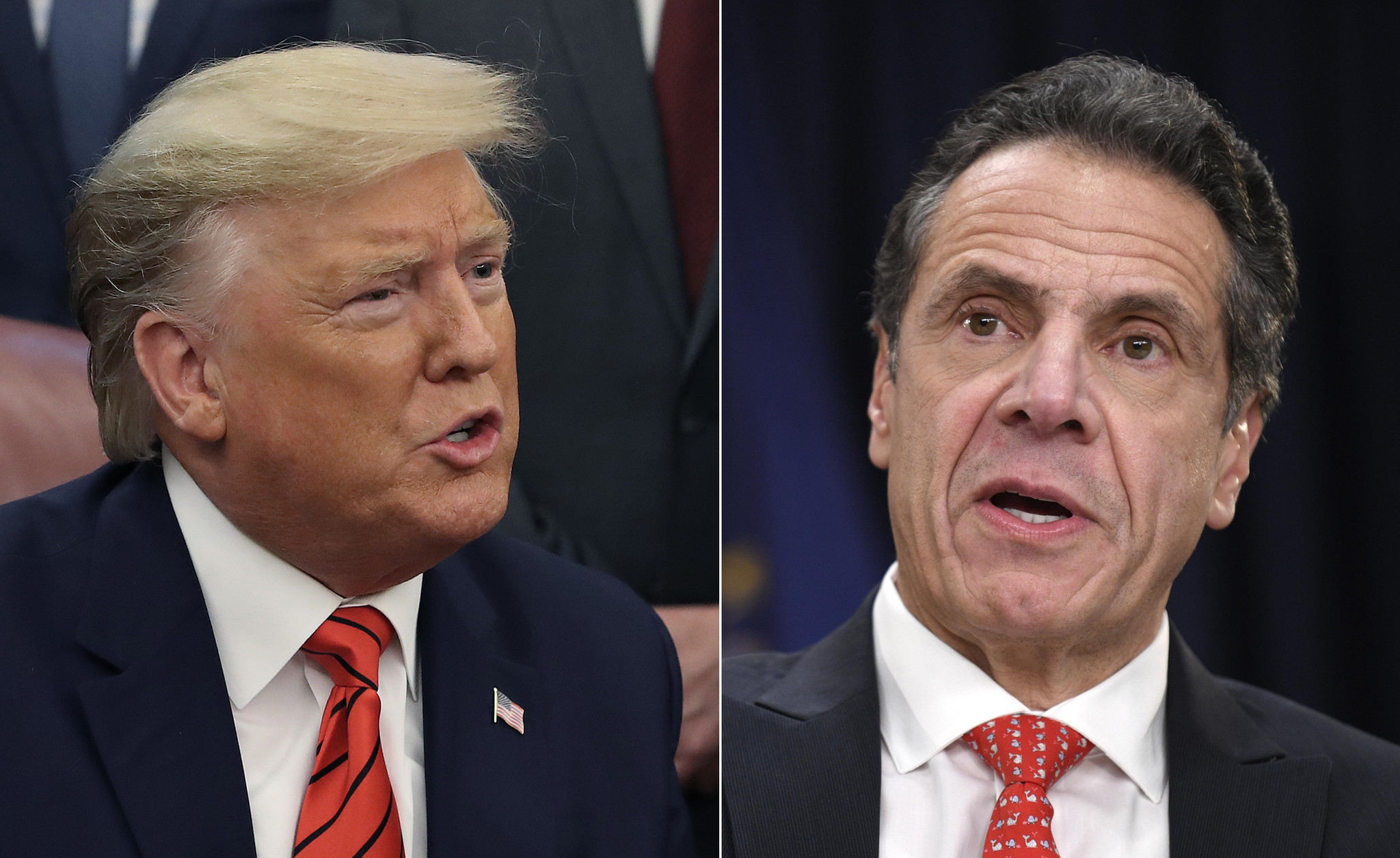 Impasse: Cuomo and Trump fail to find a solution to travel program and immigration concerns