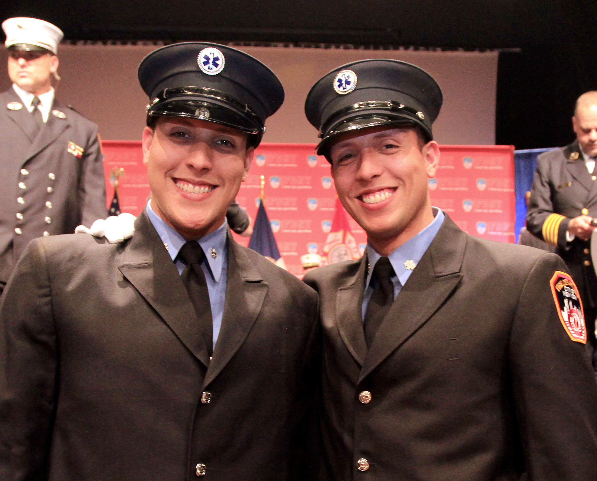 Double duty: Twin brothers among newest FDNY EMS lifesavers