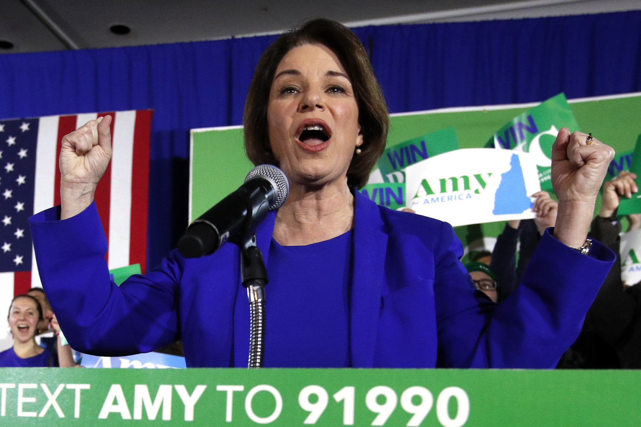 Amy Klobuchar makes her move as Democratic dogfight moves to Nevada