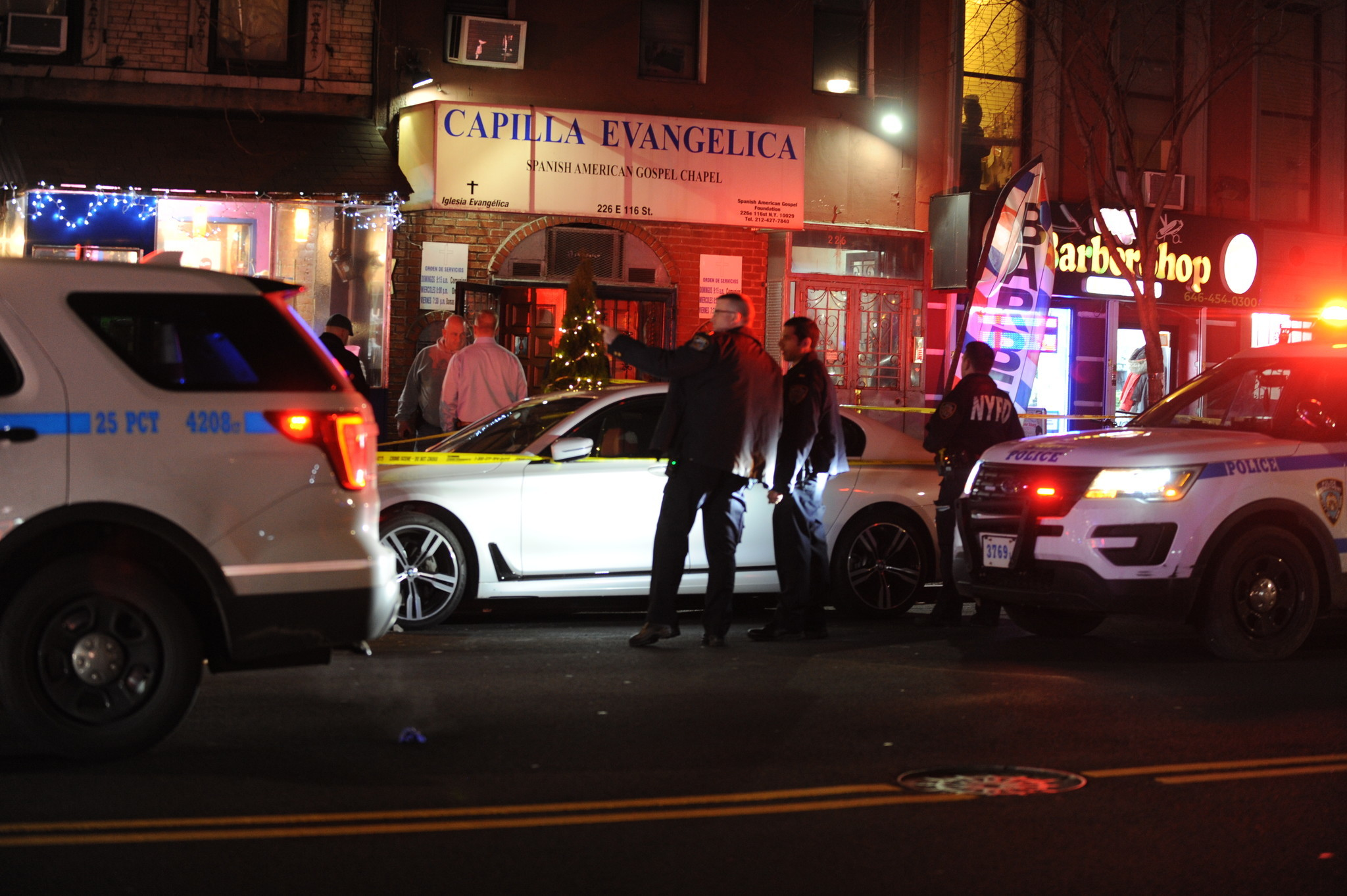 Man shot dead after fight on East Harlem street