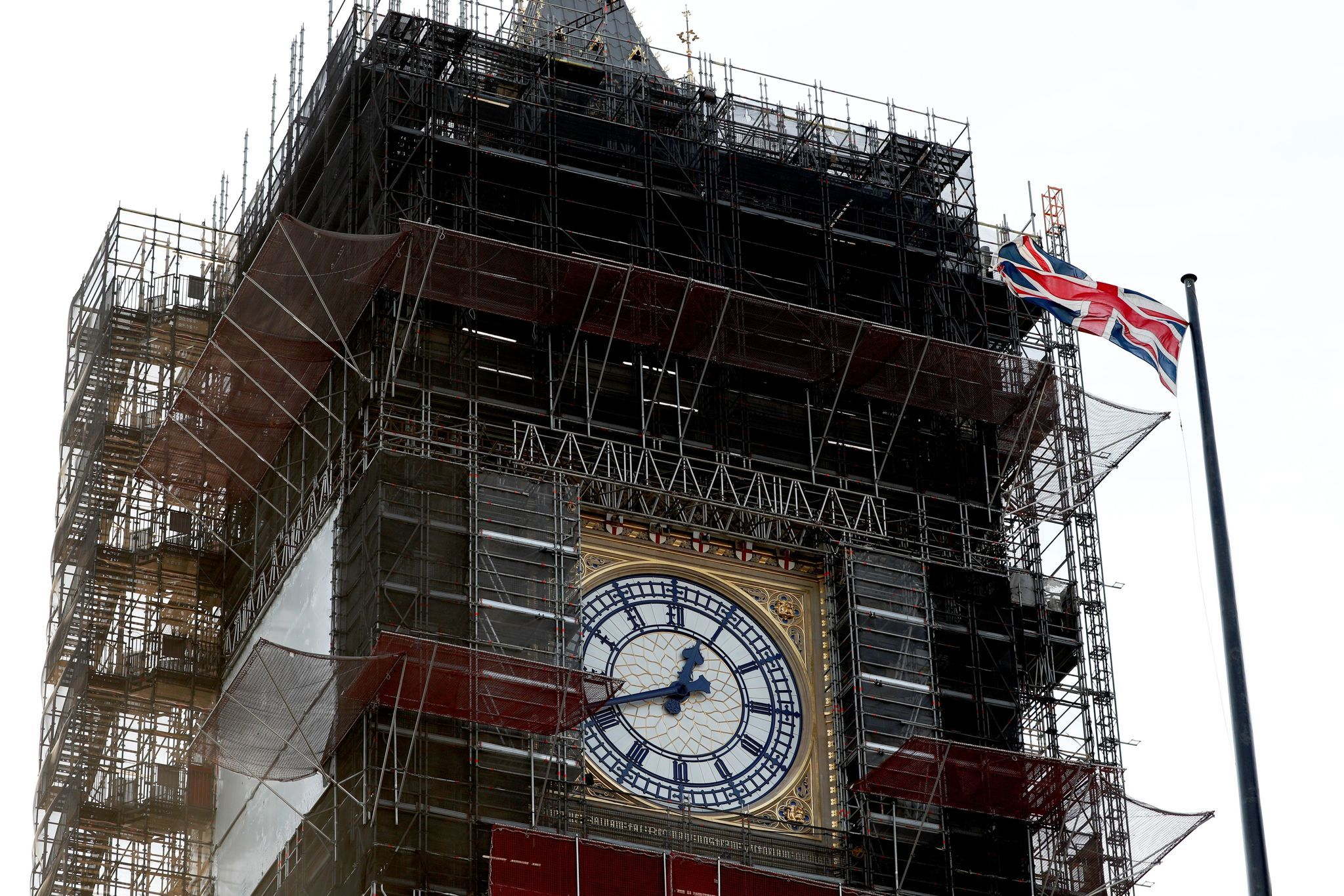 Big Ben tower more badly damaged by Nazi bombing than previously thought