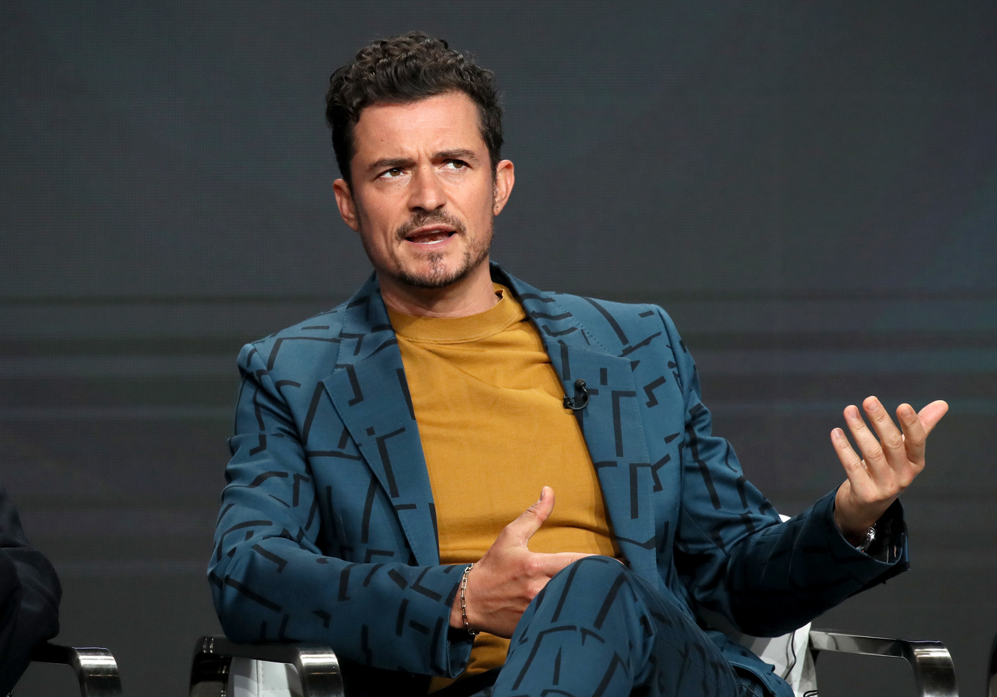 Orlando Bloom spells son's name wrong in new Morse code tattoo
