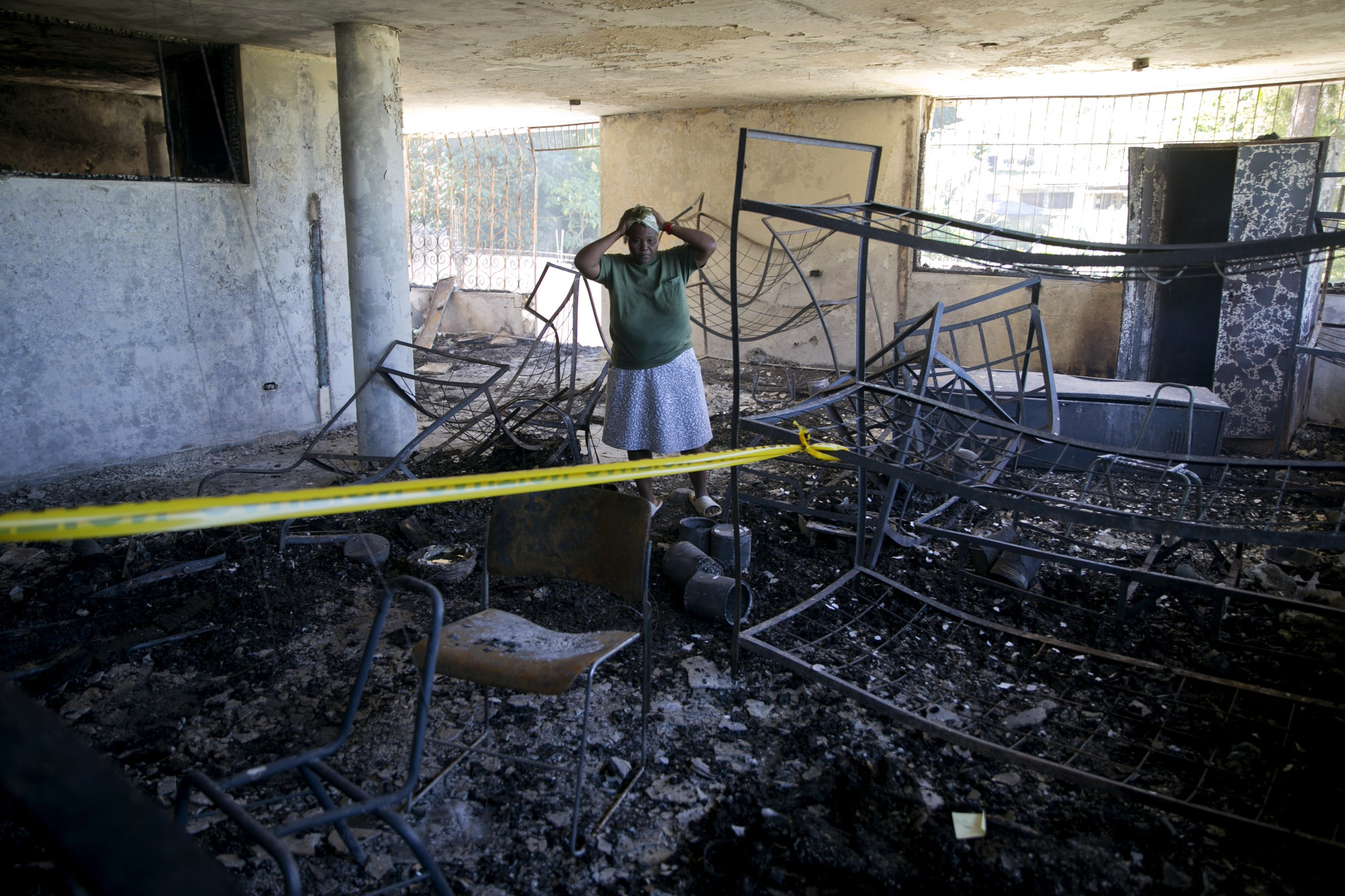 15 children killed in fire at Haitian residence known for unsanitary conditions, overcrowding