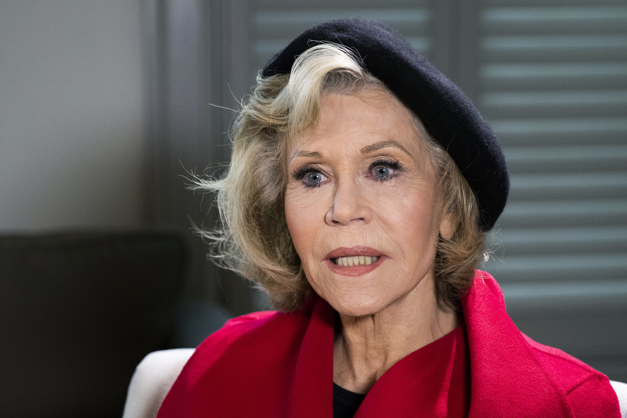Taking on ageism, Jane Fonda swears off plastic surgery; 'I'm not going to cut myself up anymore'
