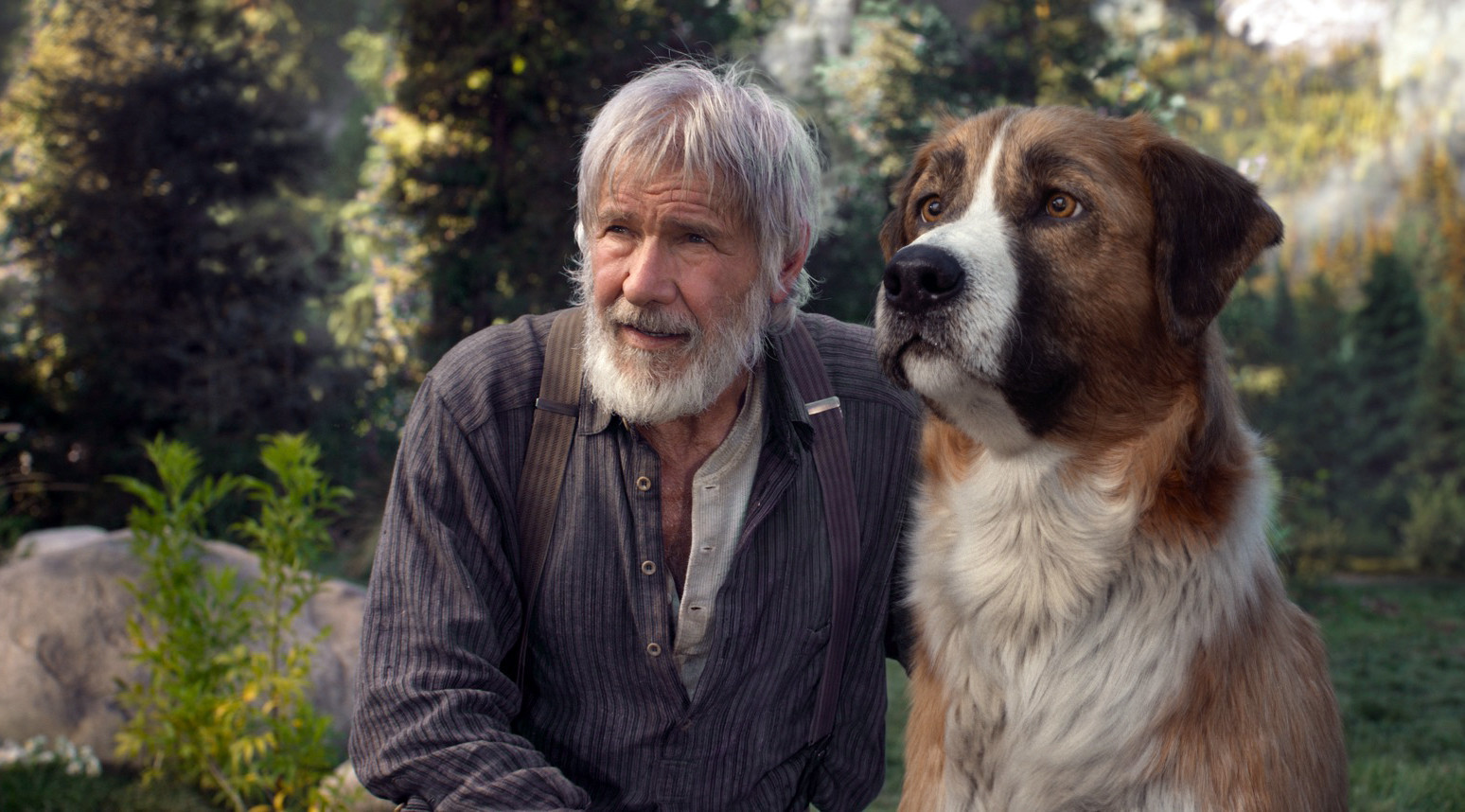 Harrison Ford explains how he put a new spin on a classic character in 'The Call of the Wild'
