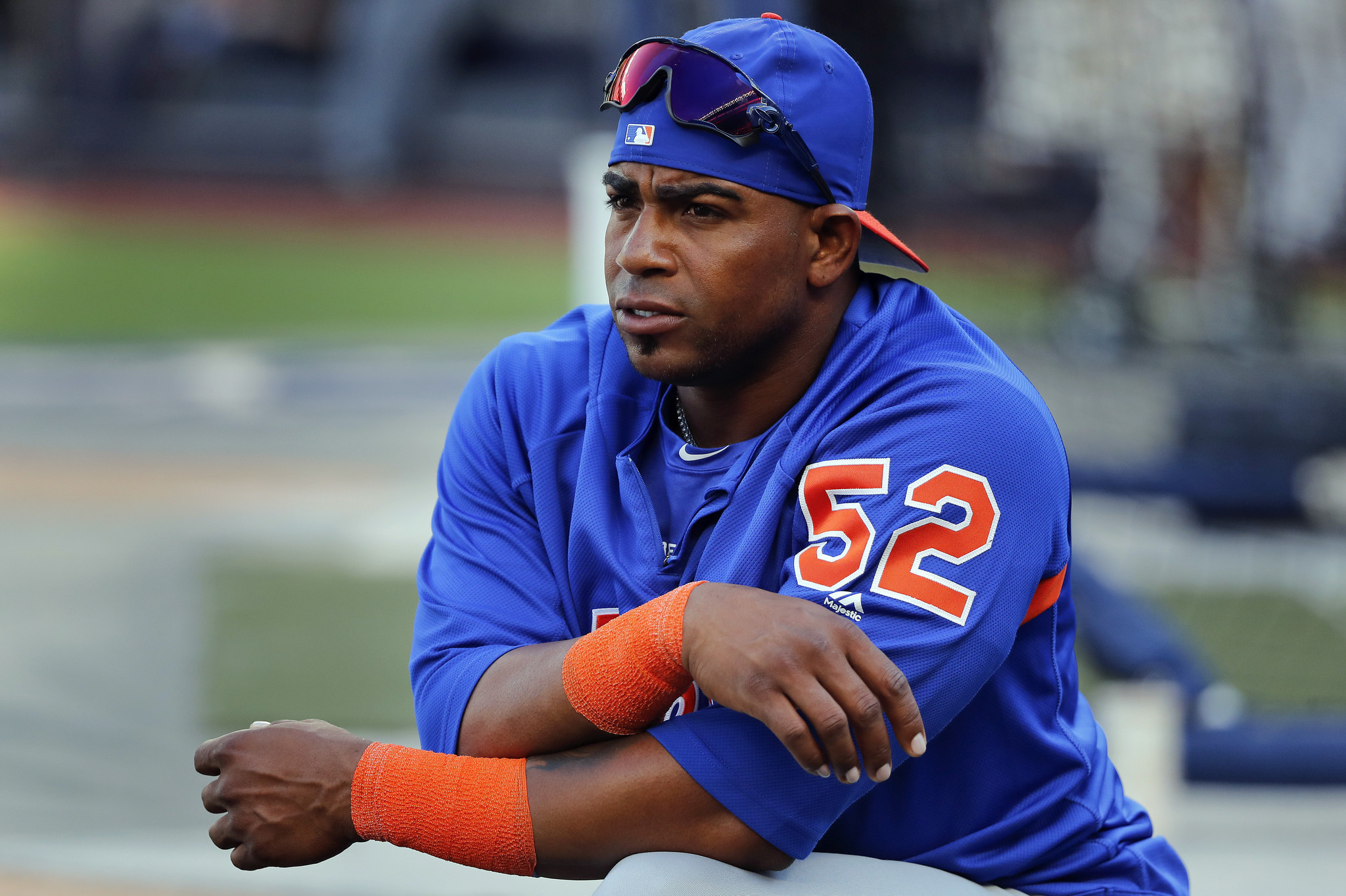 Yoenis Cespedes is speaking again (under condition no one ask about the accident on his ranch)