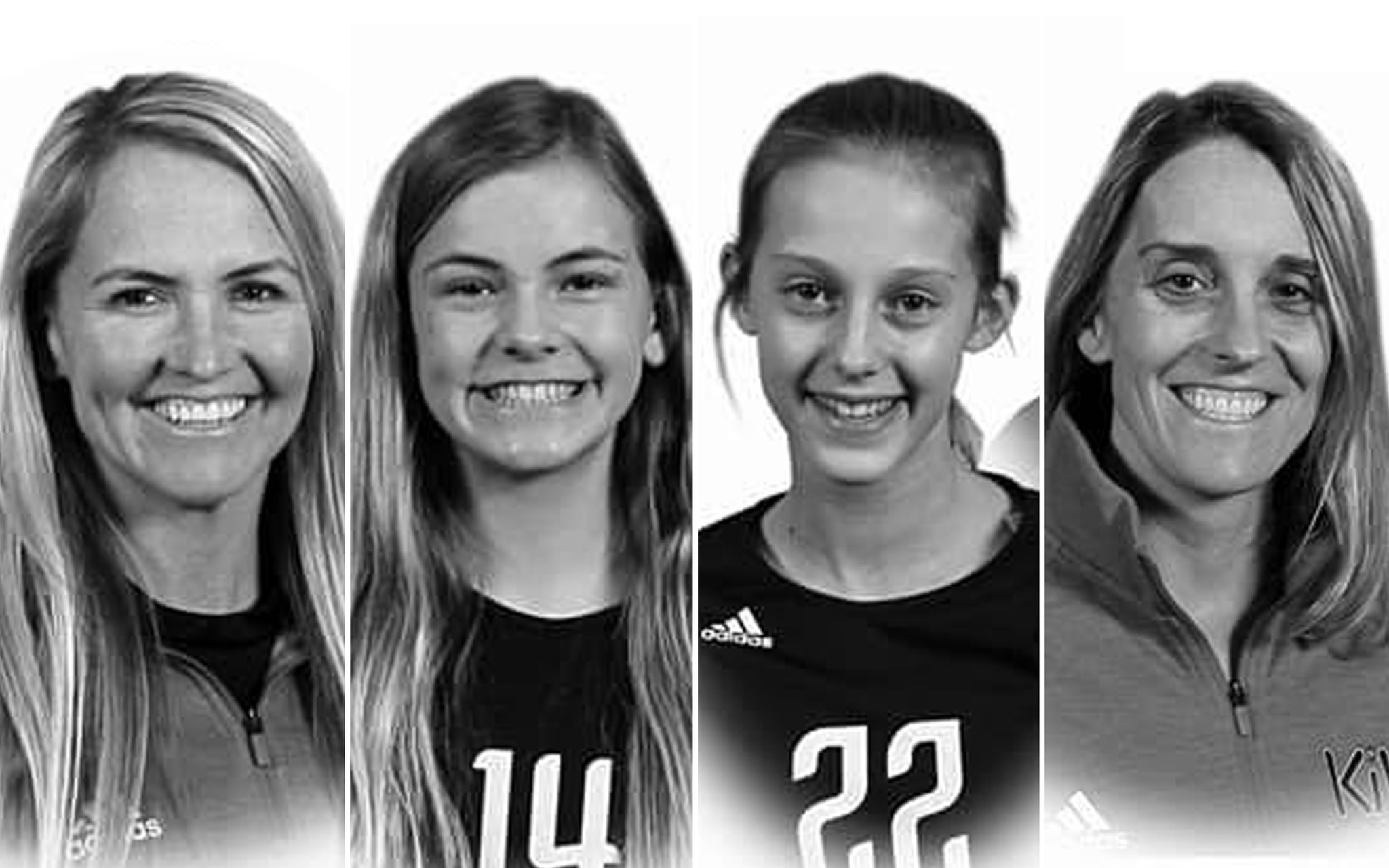 Two former college volleyball stars, their two daughters killed in Missouri car crash