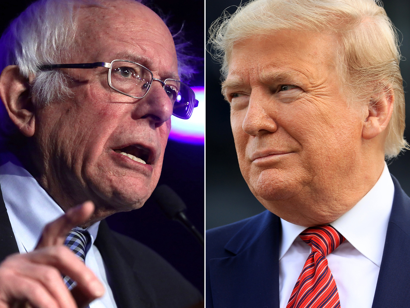 Trump's Tuesday tweets claim Democrats will rig convention to stop Bernie Sanders