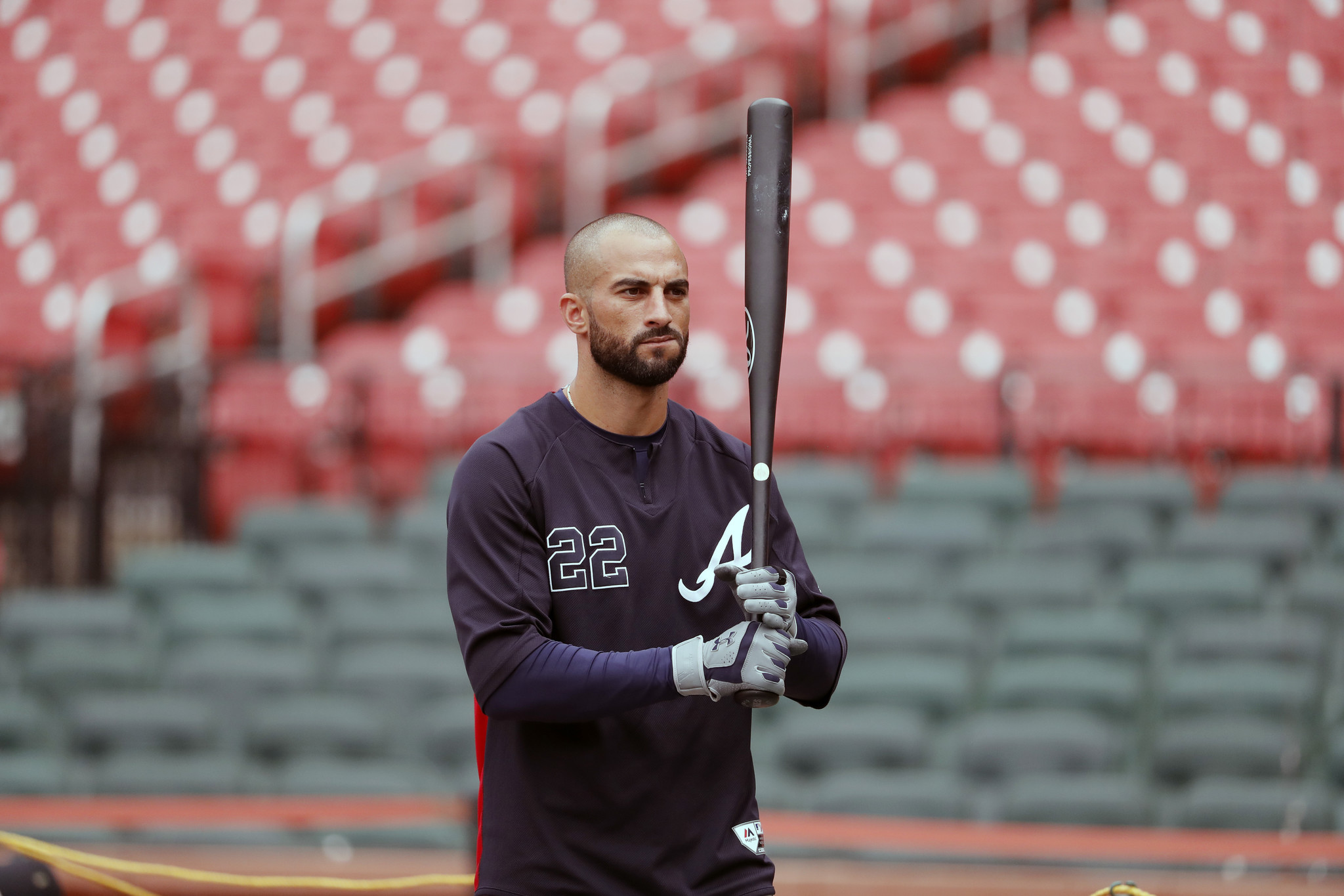 Braves' Nick Markakis: 'every single [Astros player] needs a beating'