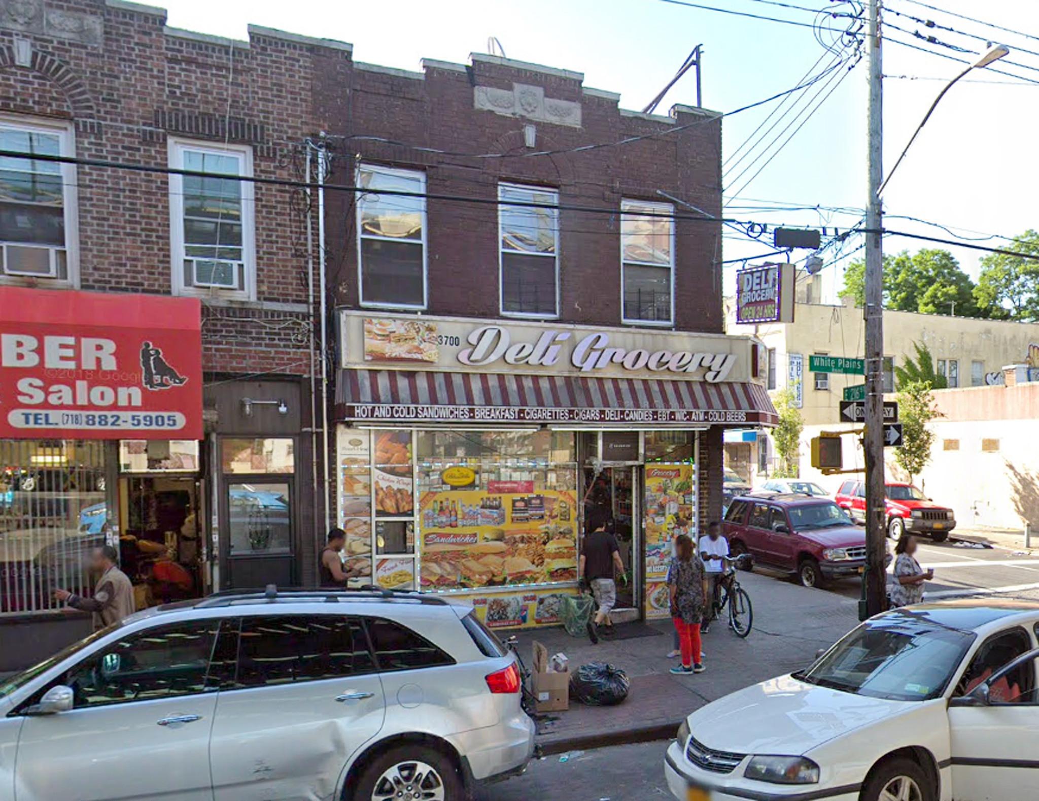 Worker shot dead behind counter of Bronx deli