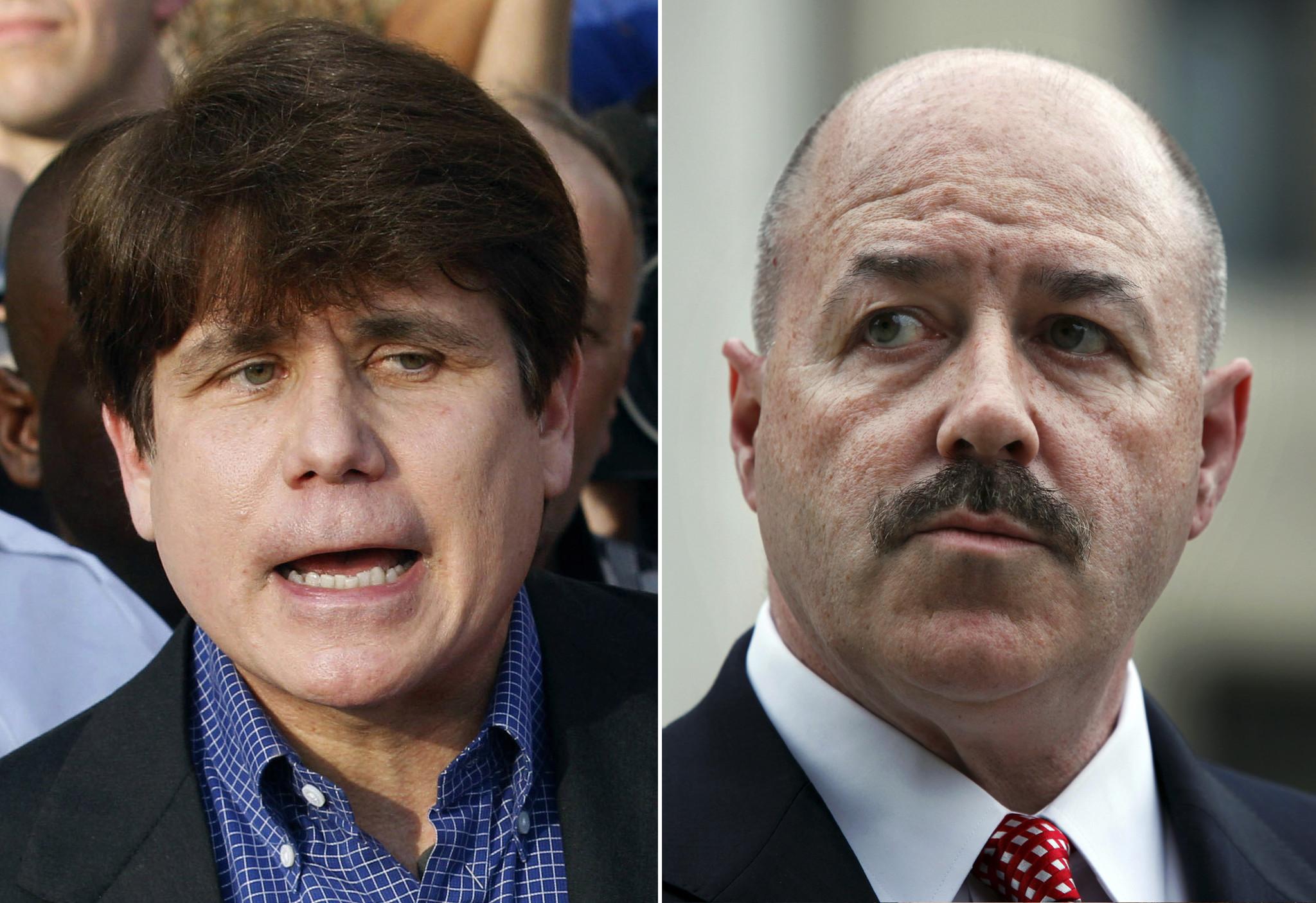 Trump pardons Rod Blagojevich and clemency for former NYPD commissioner Bernie Kerik and financier, Michael Milken