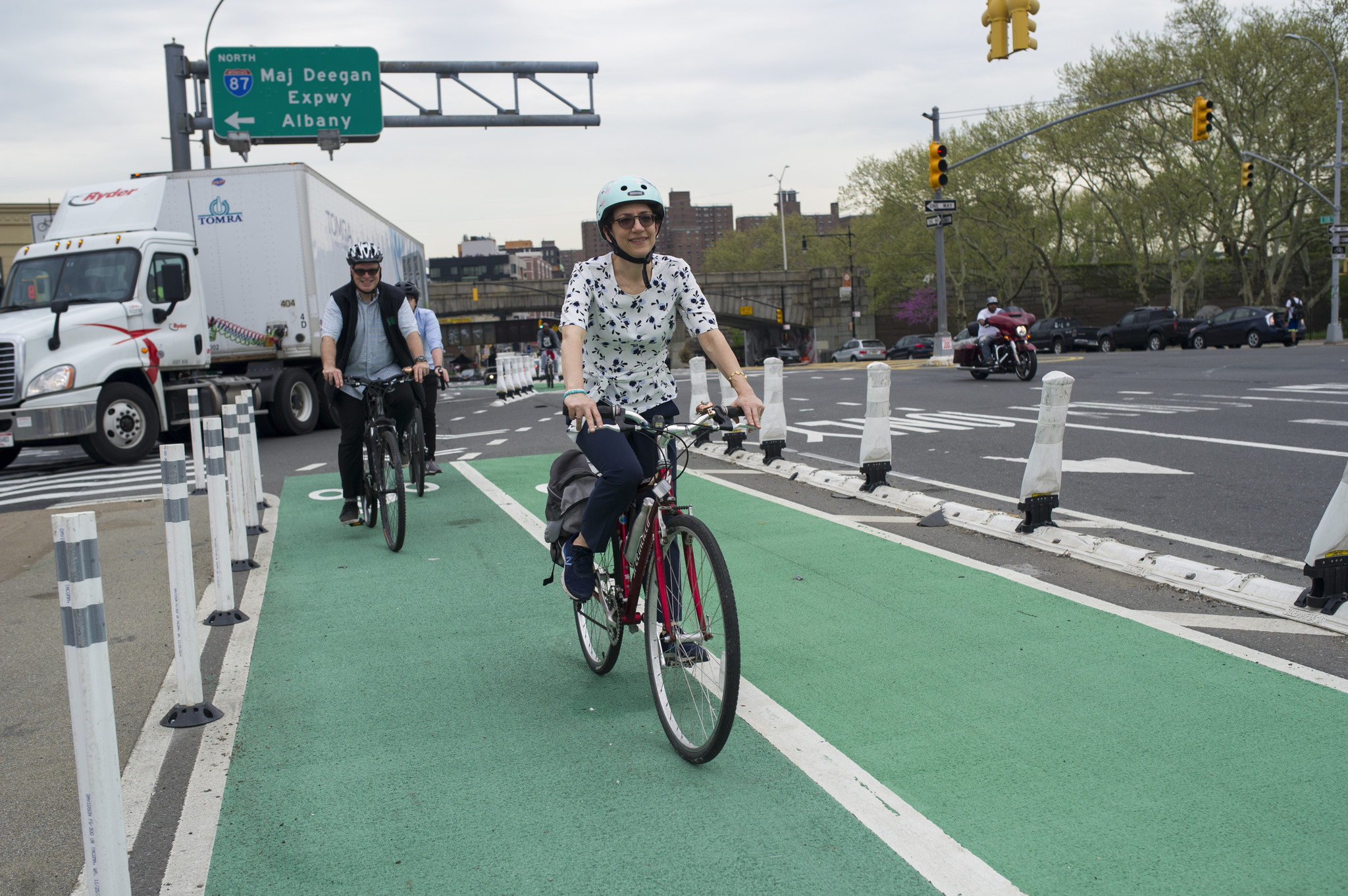 The right way to ride a bike: Some advice from avid riders about cycling in the city