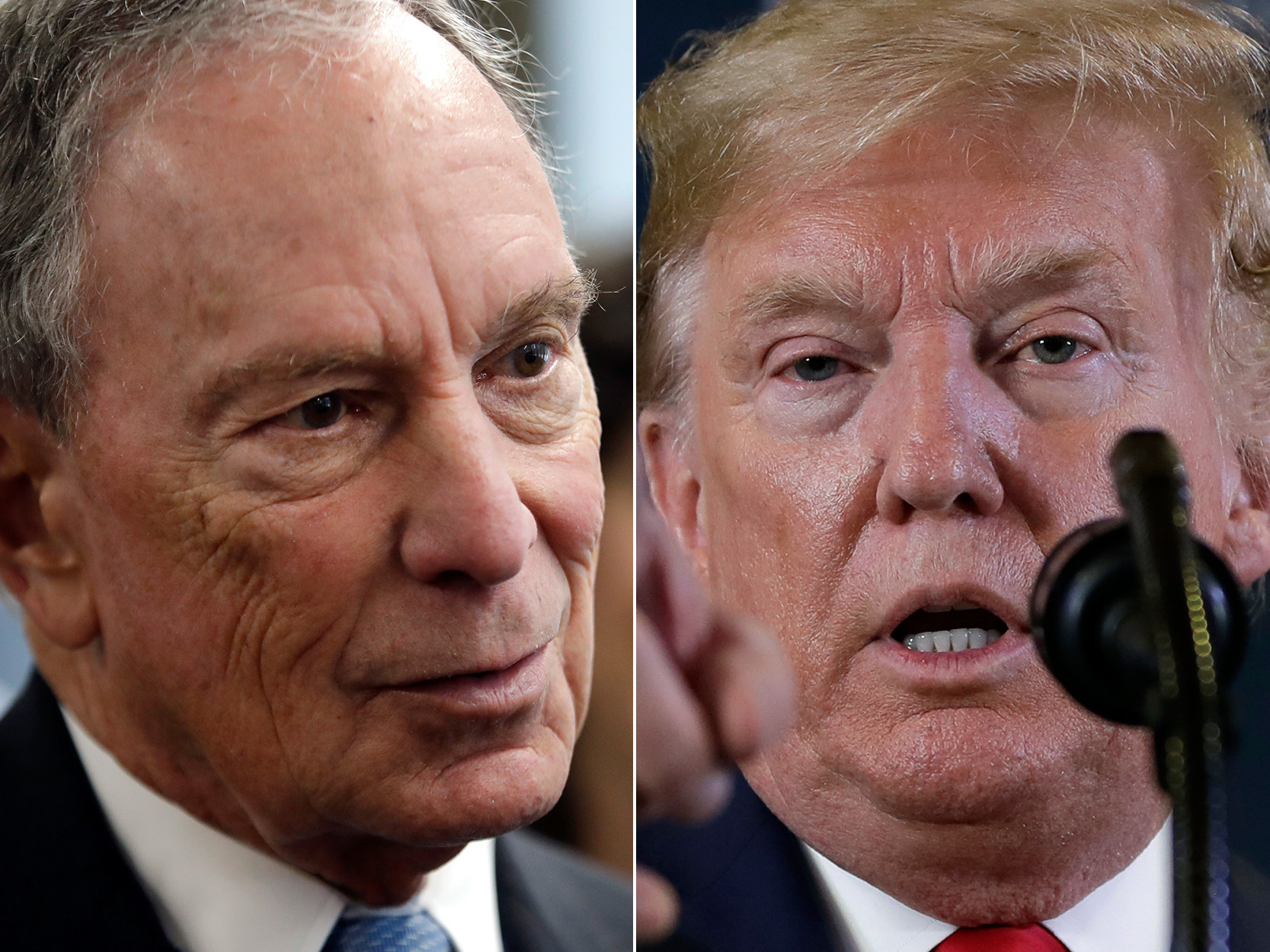 Trump trashes 'Mini Mike' Bloomberg after miserable debate night