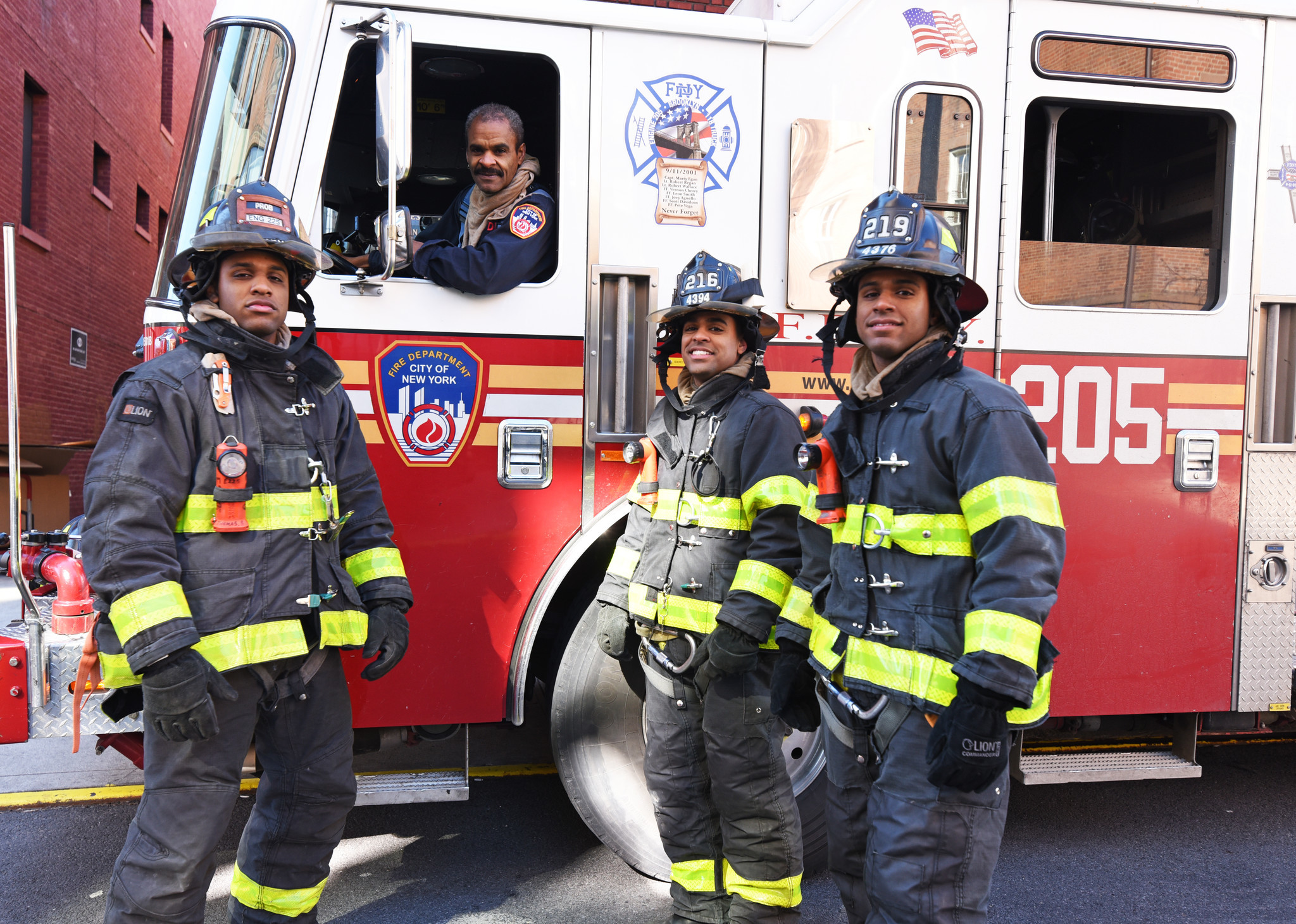 All in the family: FDNY father, three sons, fight fires and promote diversity together