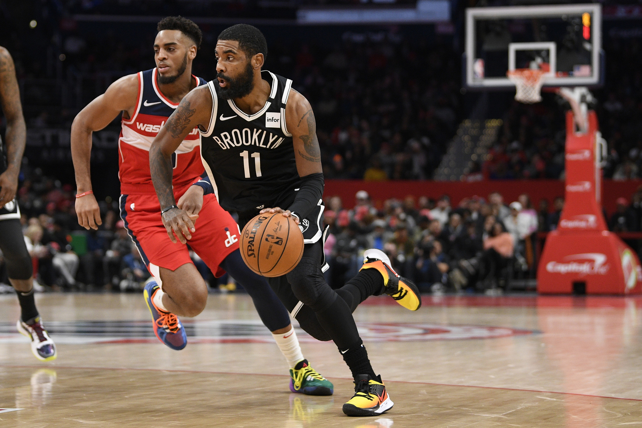 Nets star Kyrie Irving likely to undergo shoulder surgery, out indefinitely: report