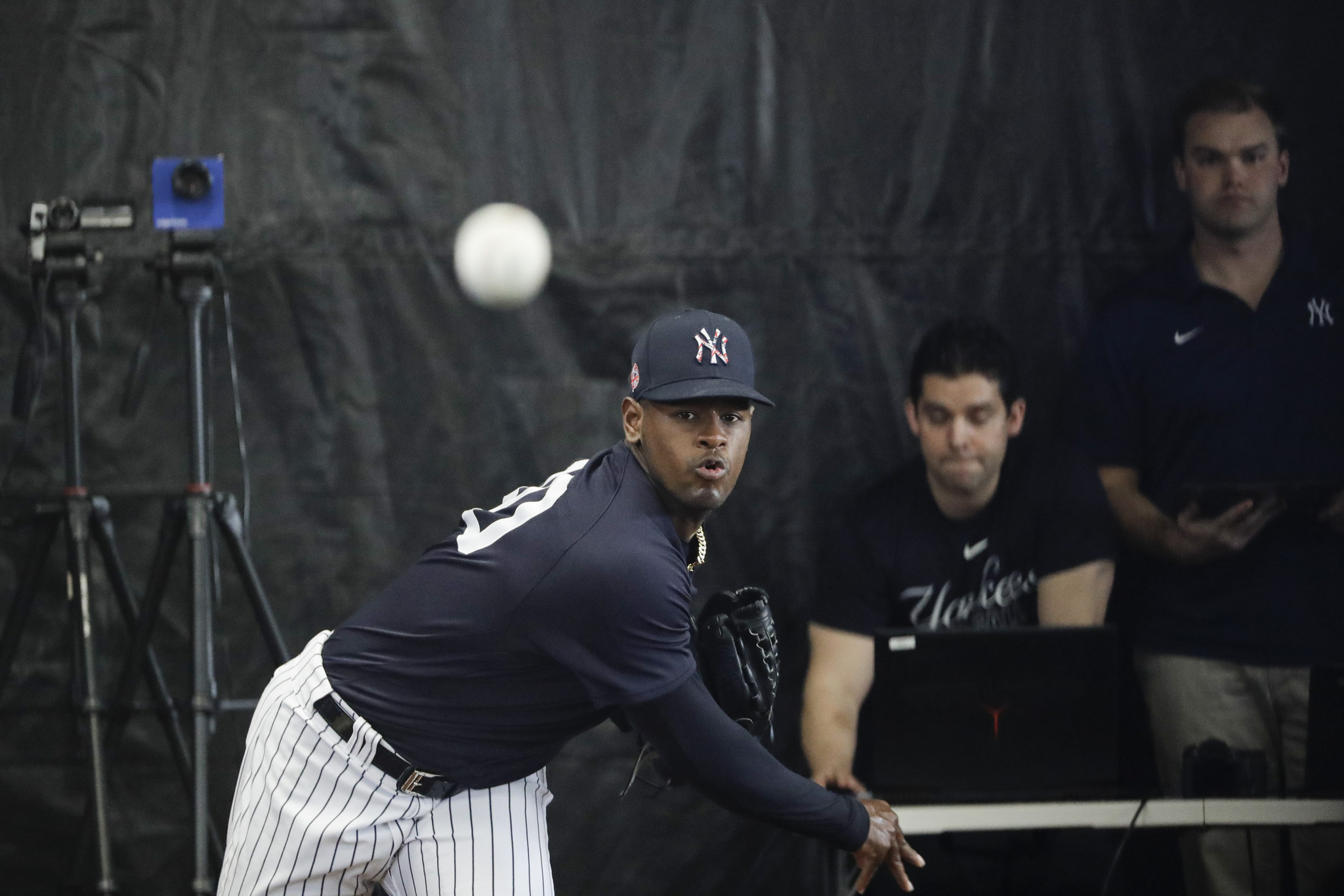 Yankees righty Luis Severino frustrated as he tries to figure out what's going on with his arm