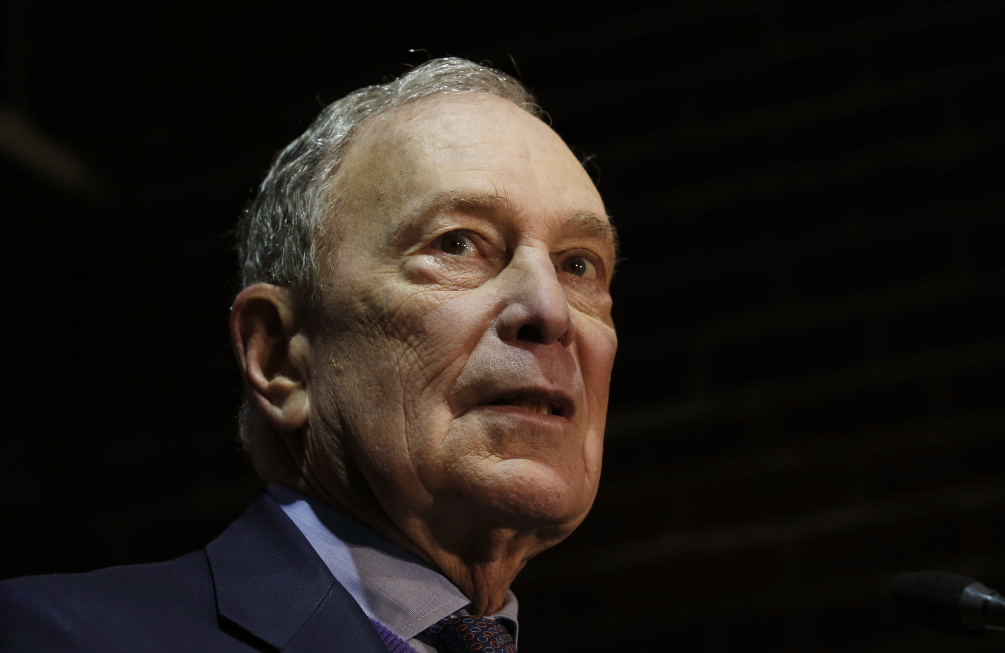 Bloomberg suggests without evidence that Bernie Sanders supporters are responsible for campaign office vandalism