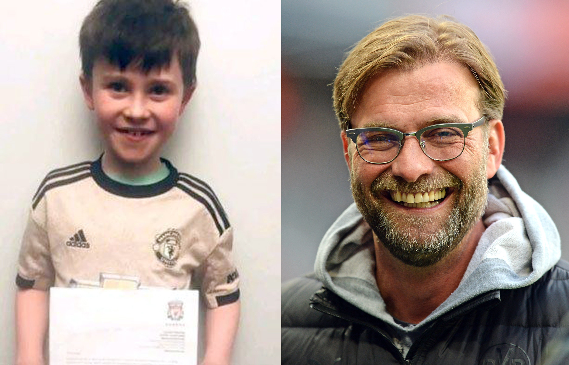10-year-old soccer fan writes letter asking Liverpool coach to lose a match — and gets a response