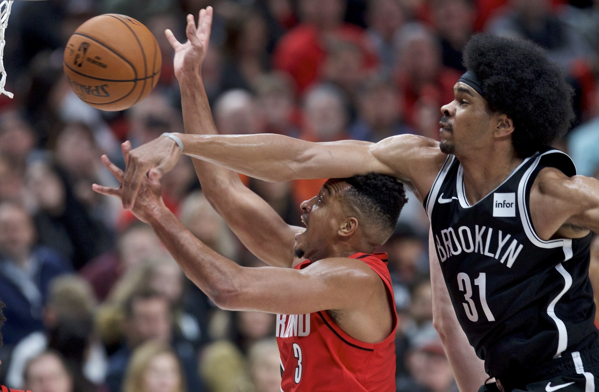 NBA teams are learning that scoring on Nets center Jarrett Allen is hard