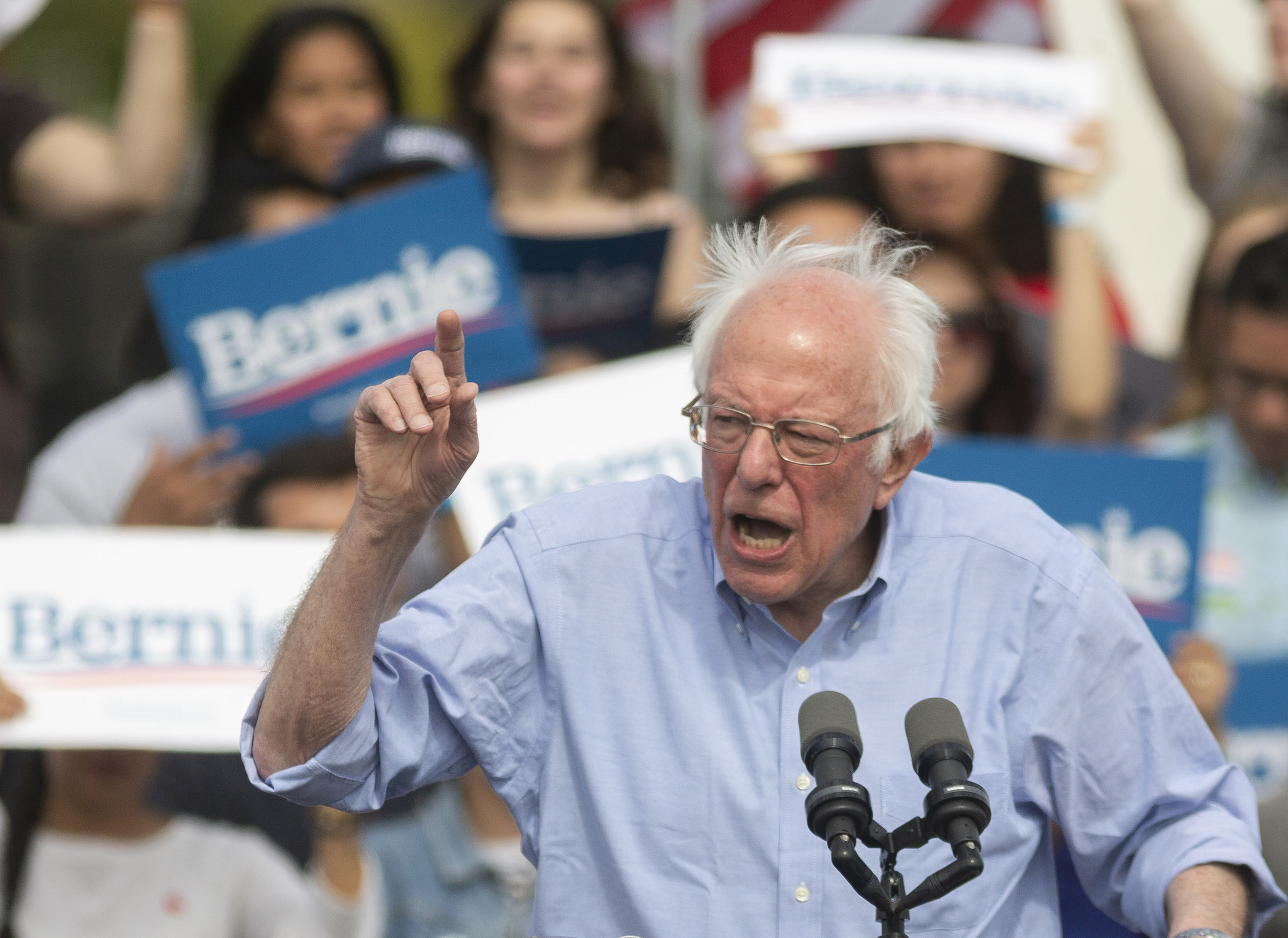 Bernie Sanders warns Russia to 'stay out' after intel report reveals help for him and Trump