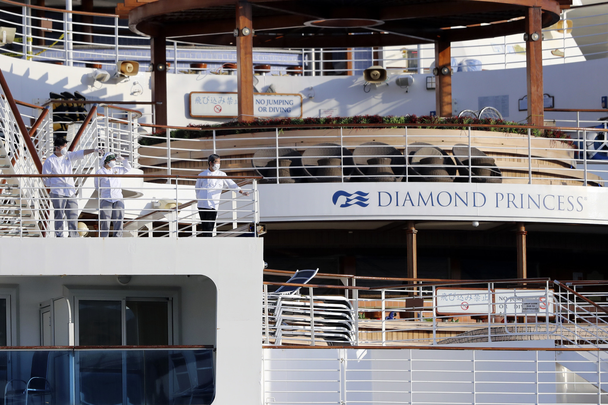 Third passenger of Diamond Princess cruise ship quarantined for coronavirus has died, Japan health officials say