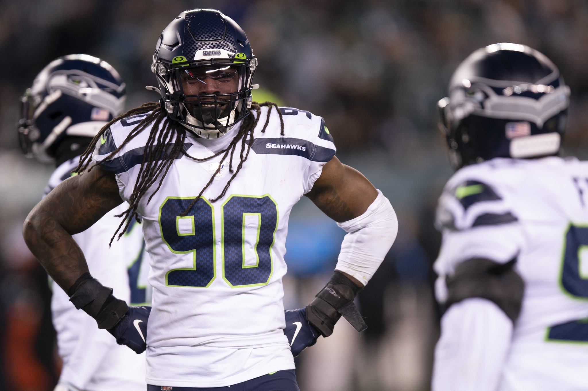 Joe Douglas says Jets looked into adding pass rusher Jadeveon Clowney