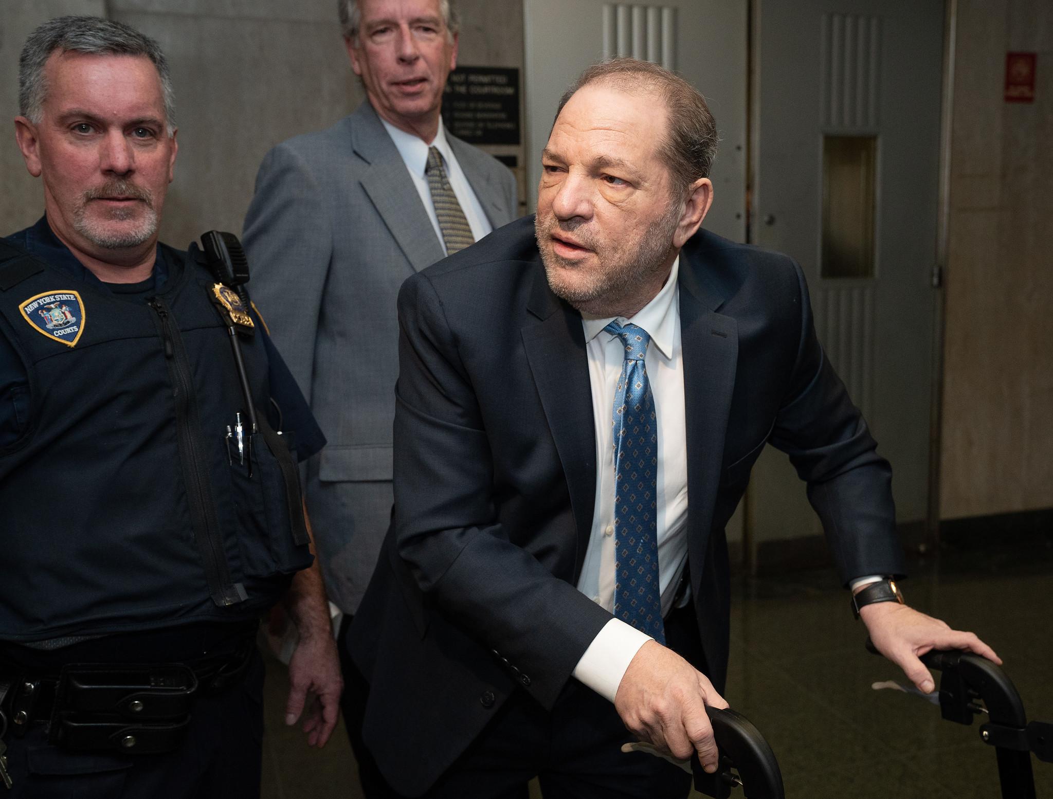 Happy birthday, Harvey! Weinstein turns 68 in max security prison