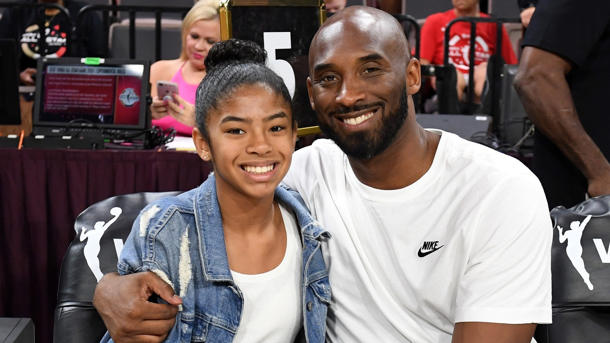 Kobe Bryant's sister, Sharia Washington, honors brother and niece Gianna with new tattoo