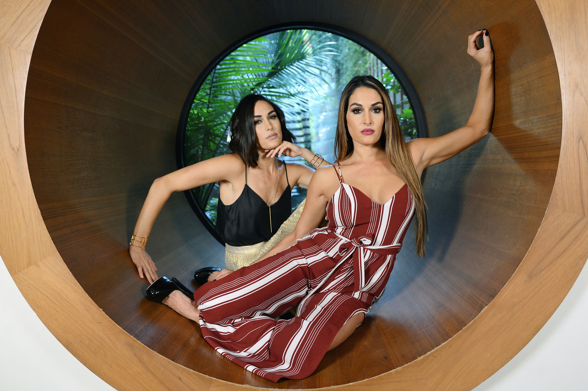 Twin stars Nikki and Brie Bella are being inducted into the WWE Hall of Fame