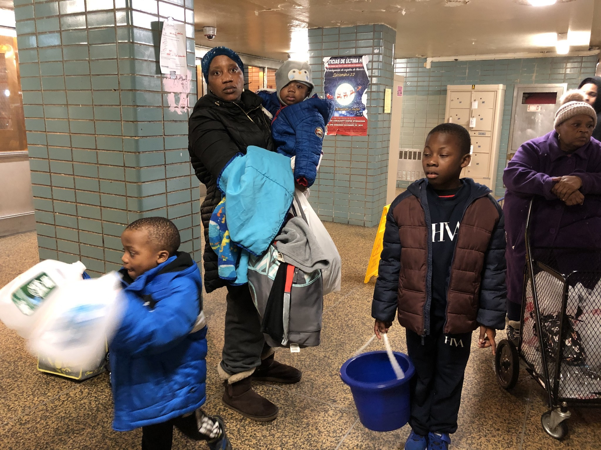 NYCHA's Taft Houses residents in Manhattan without water for days
